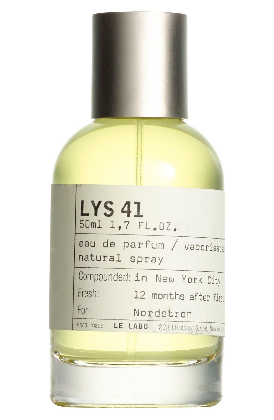 LE LABO, 'Lys 41' Eau de Parfum, Alternate thumbnail 5, color, NO COLOR