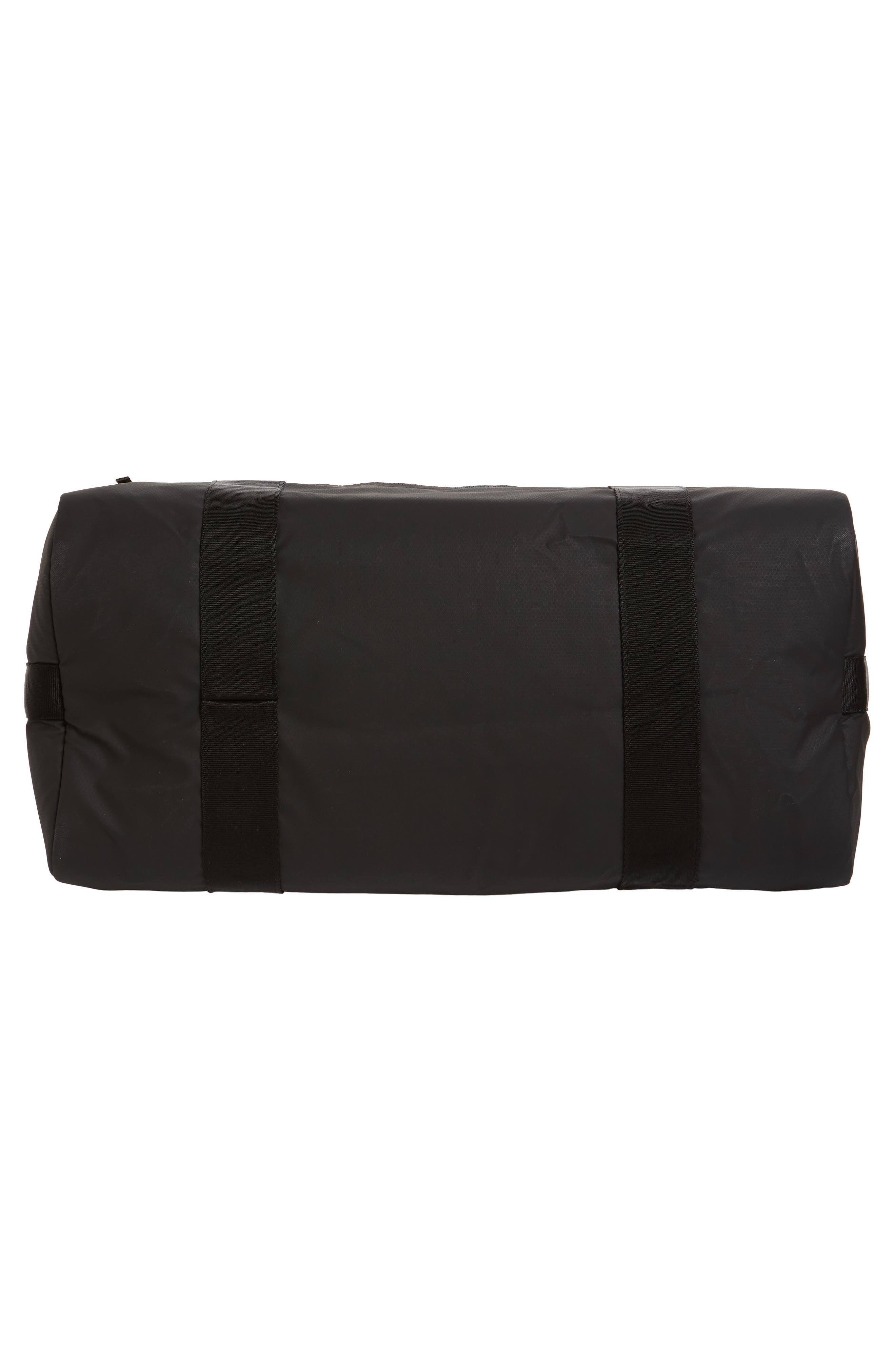 ADIDAS ORIGINALS, PK Amplifier Duffle Bag, Alternate thumbnail 6, color, GREY/ BLACK