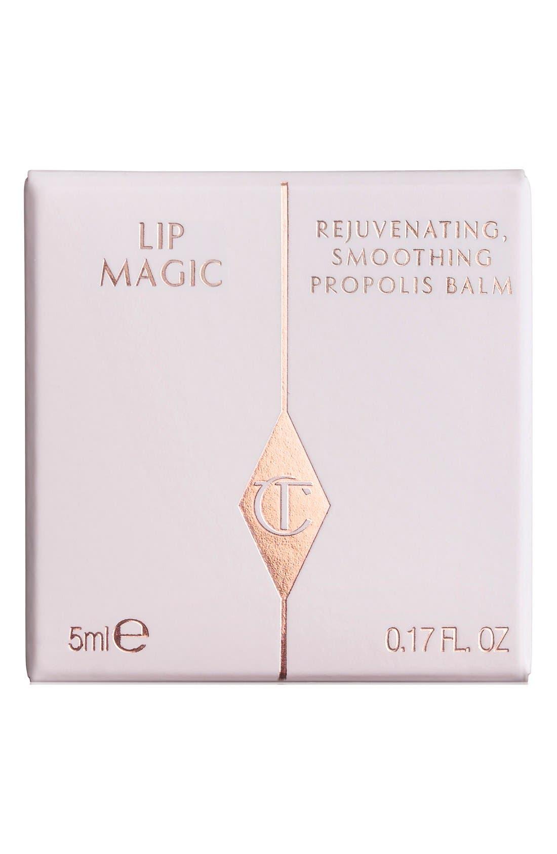 CHARLOTTE TILBURY, Lip Magic Rejuvenating Smoothing Lip Balm, Alternate thumbnail 2, color, 000