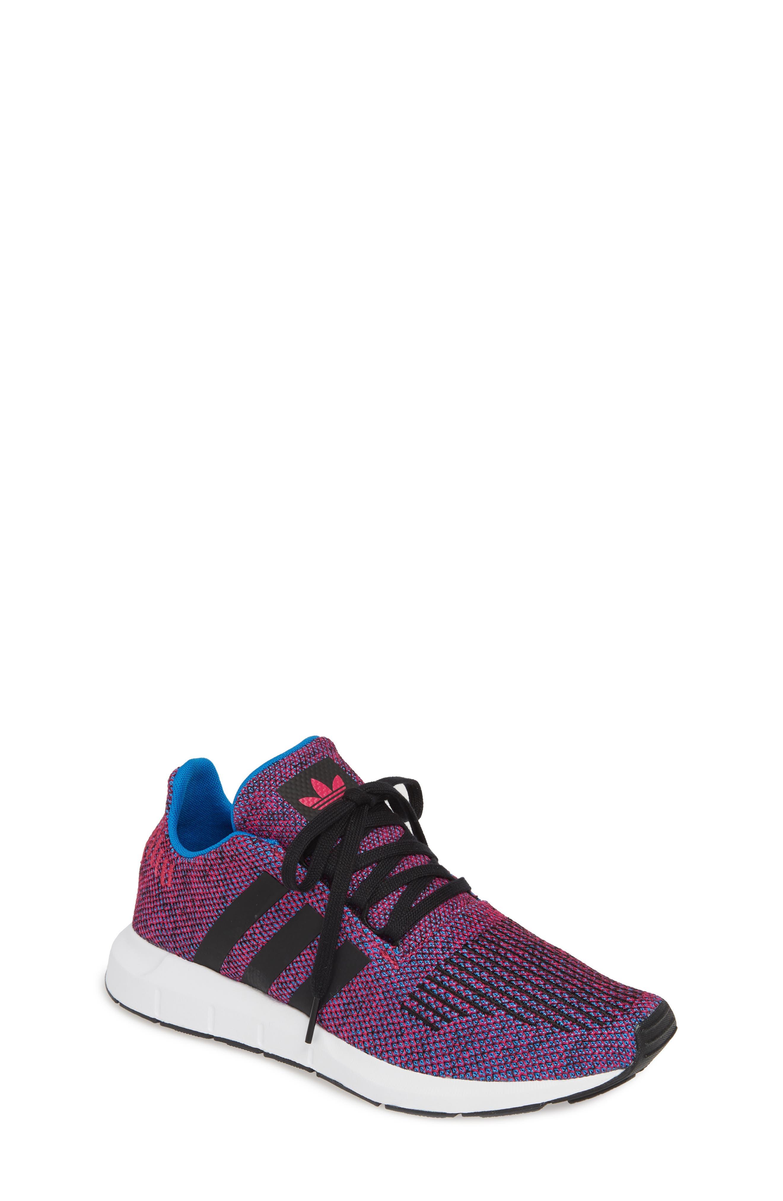 Toddler Adidas Swift Run J Sneaker Size 9 M  Pink