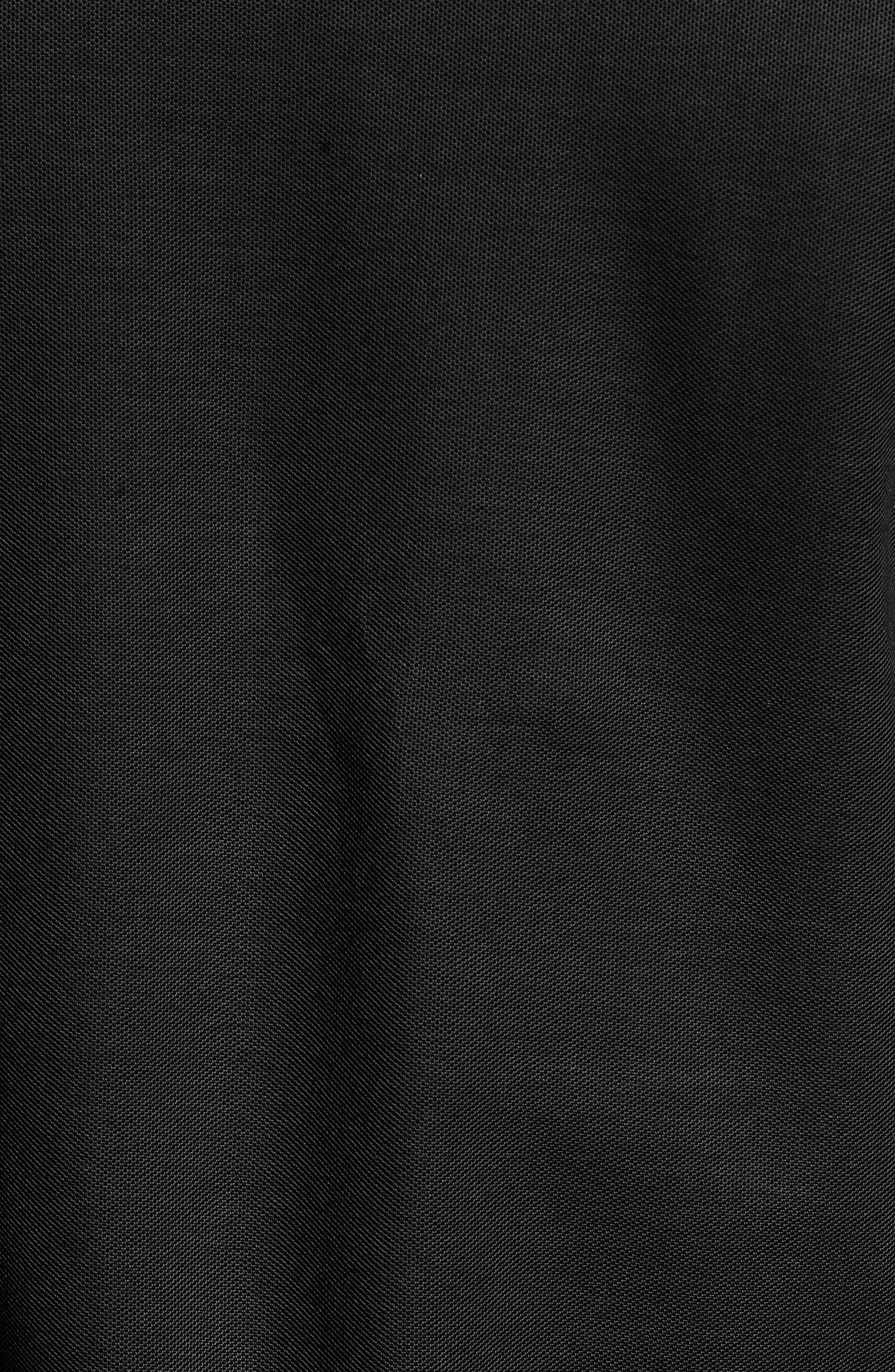 PSYCHO BUNNY, The Classic Piqué Polo, Alternate thumbnail 5, color, BLACK