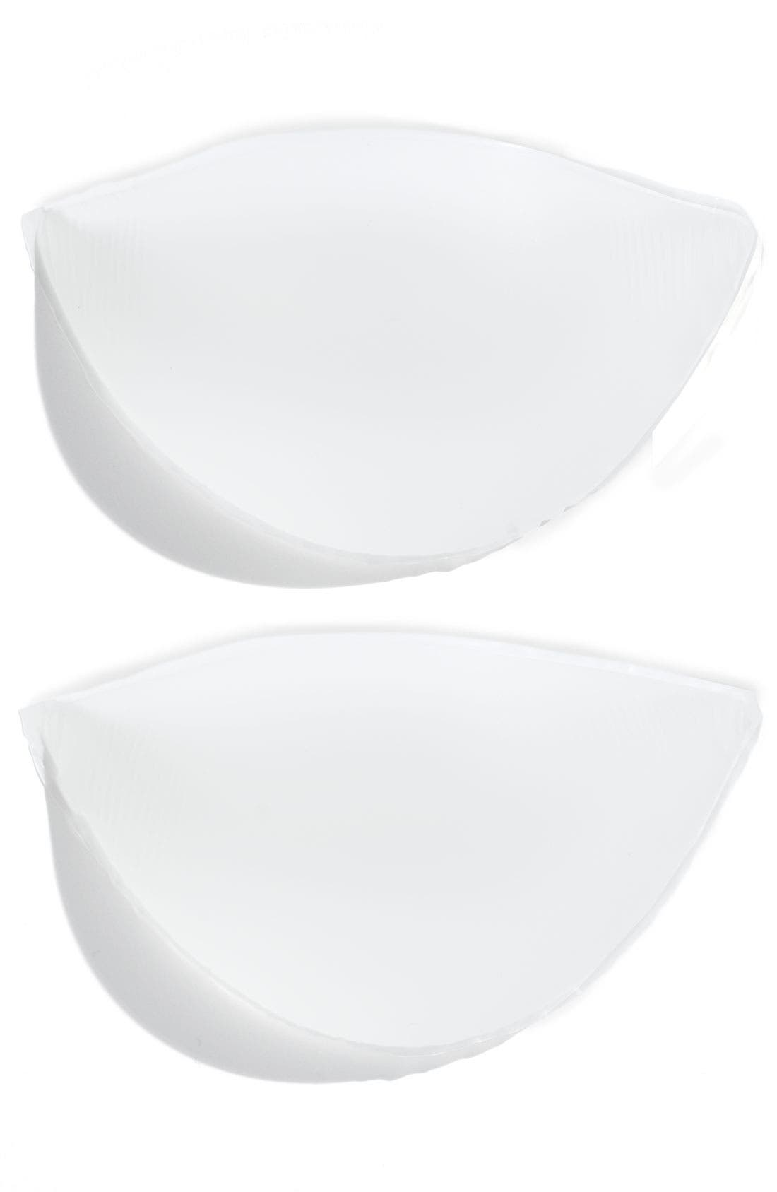 NORDSTROM LINGERIE, 'NO84787' Push-Up Gel Pads, Main thumbnail 1, color, NEW CLEAR