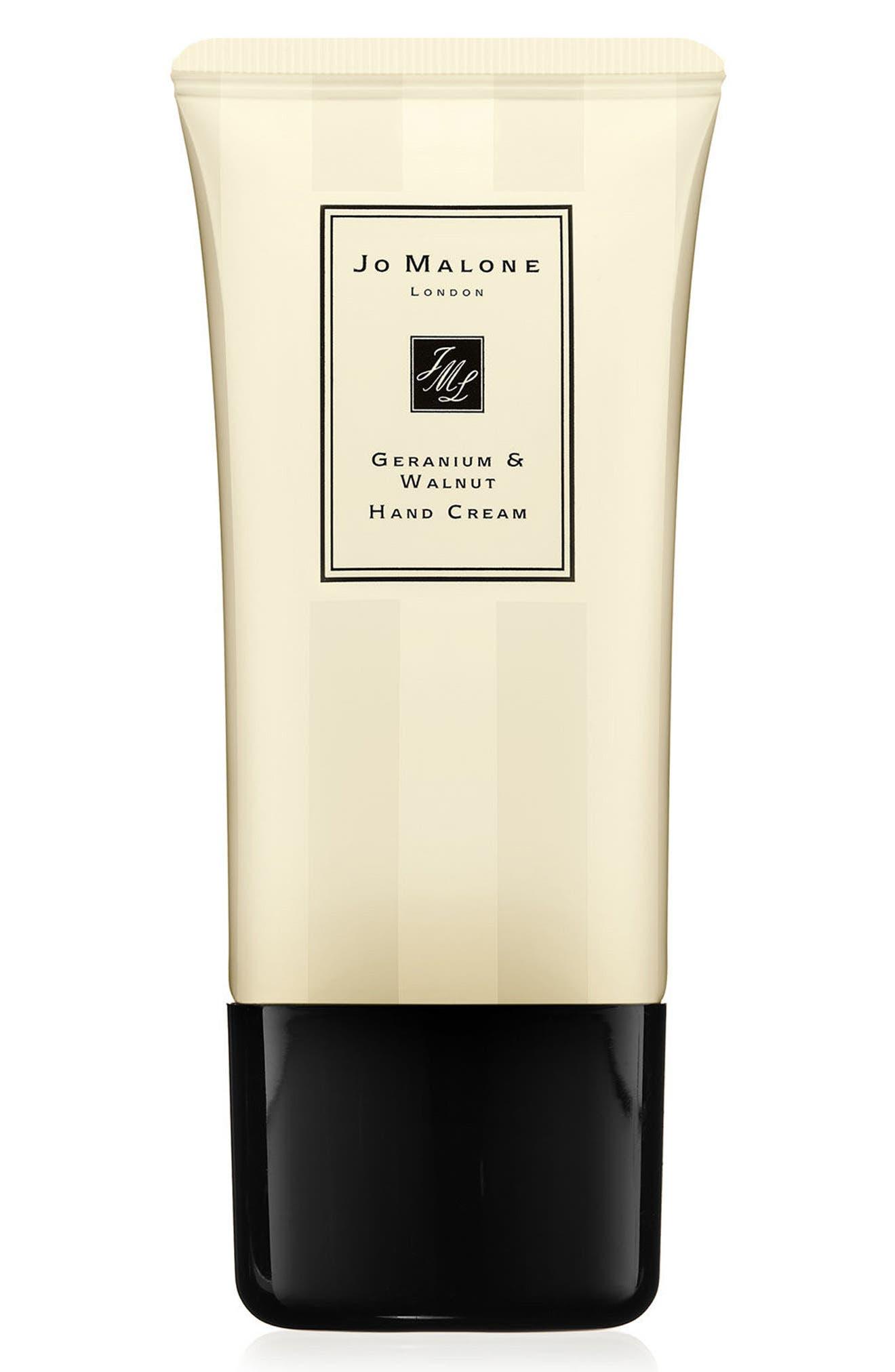 JO MALONE LONDON<SUP>™</SUP>, Geranium & Walnut Hand Cream, Alternate thumbnail 2, color, NO COLOR