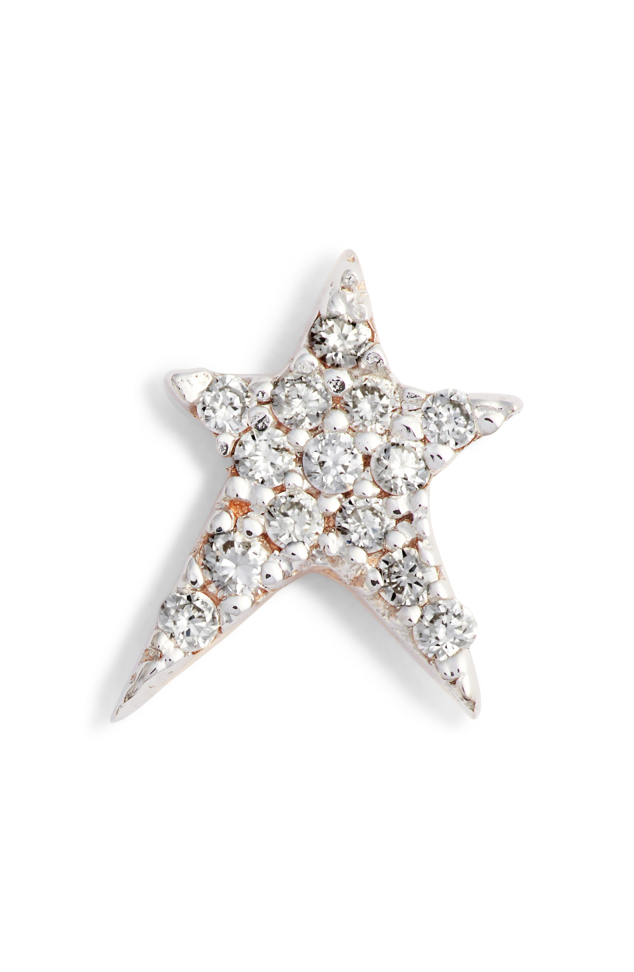 KISMET BY MILKA Struck Diamond Stud Earring, Main, color, 712