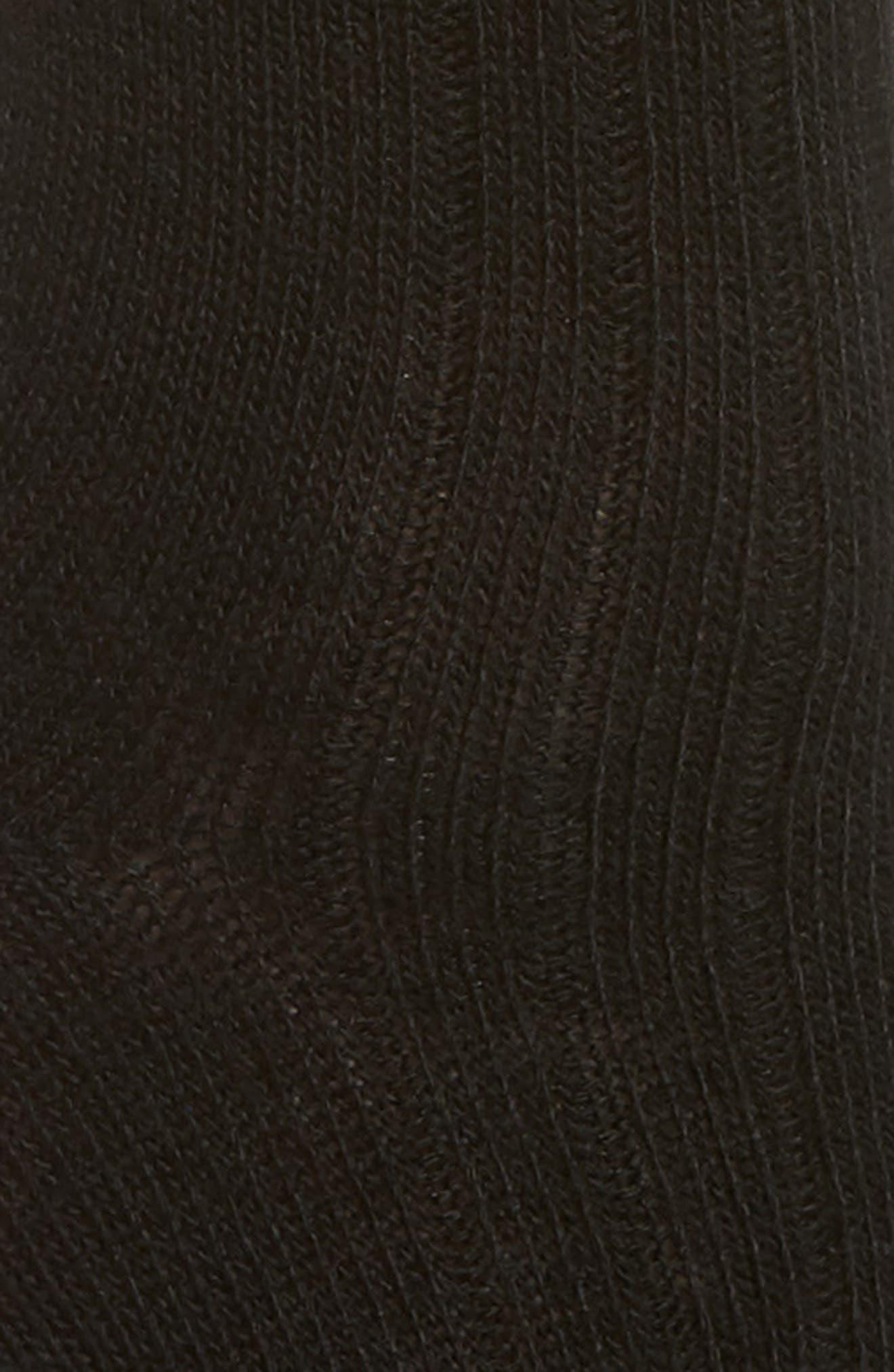 UGG<SUP>®</SUP>, Nayomi Socks, Alternate thumbnail 2, color, 001