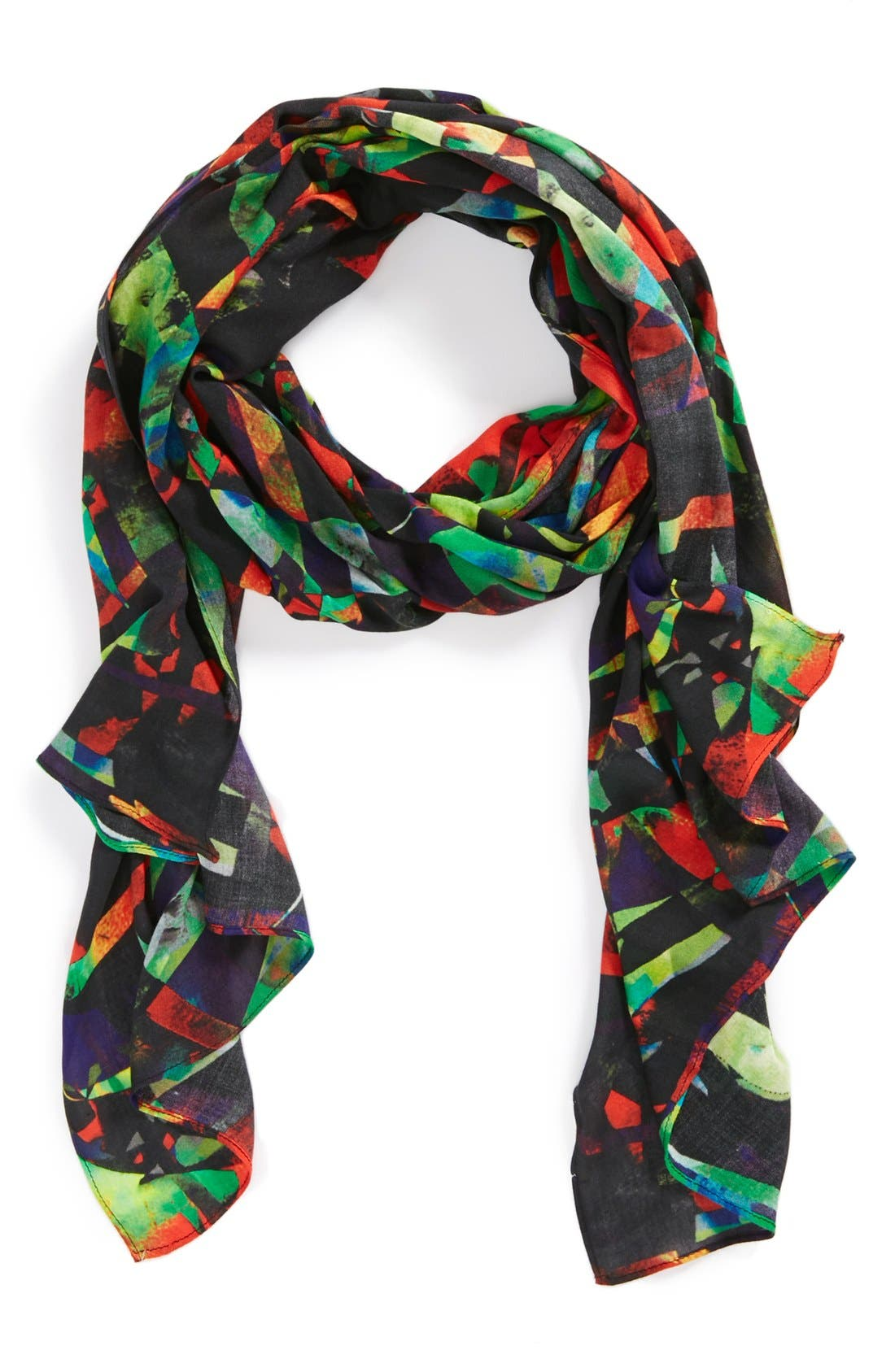 FRONT ROW SOCIETY 'Circus in Town' Scarf, Main, color, 600