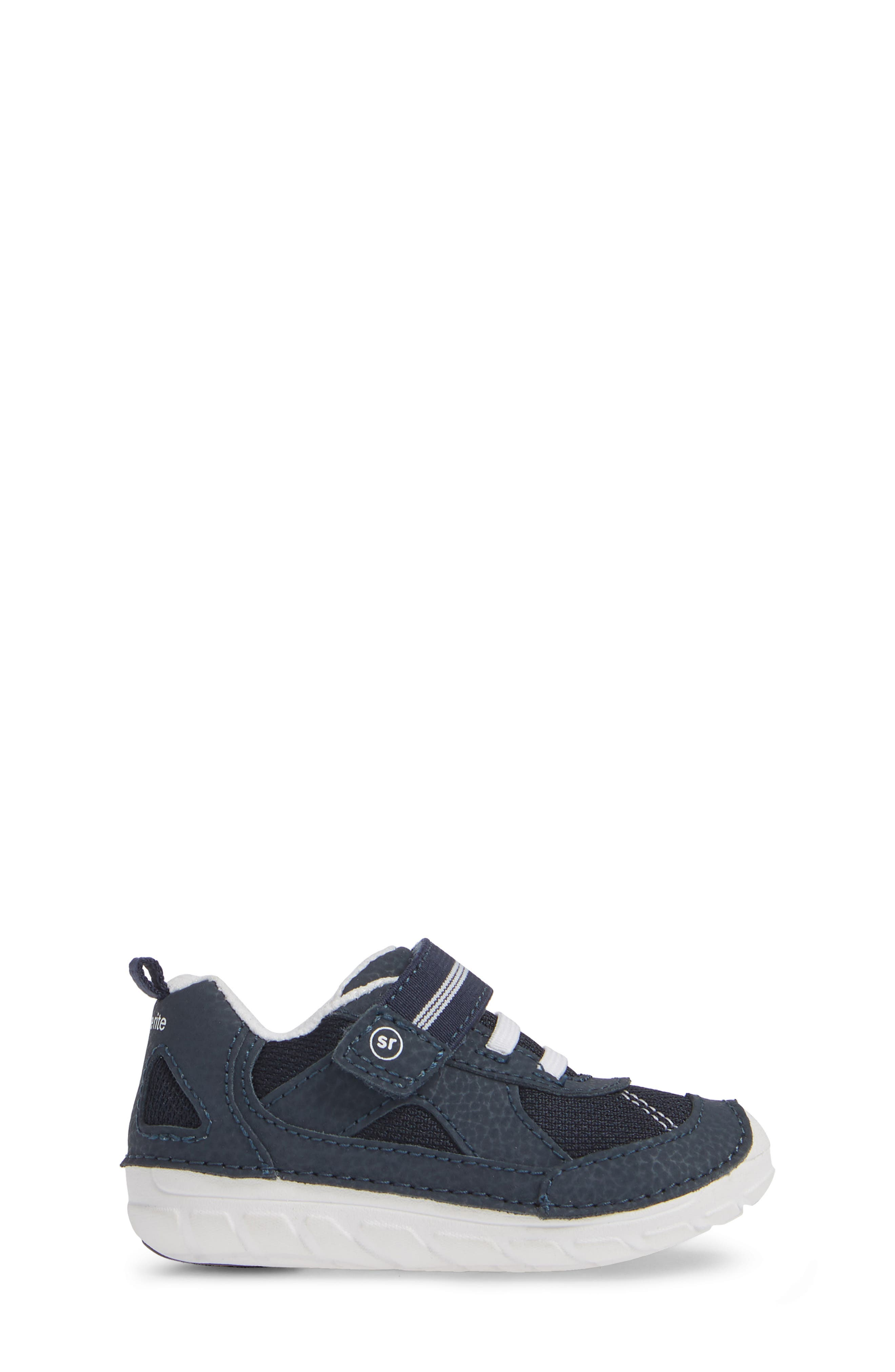 STRIDE RITE, Soft Motion<sup>™</sup> Jamie Sneaker, Alternate thumbnail 3, color, NAVY/ WHITE