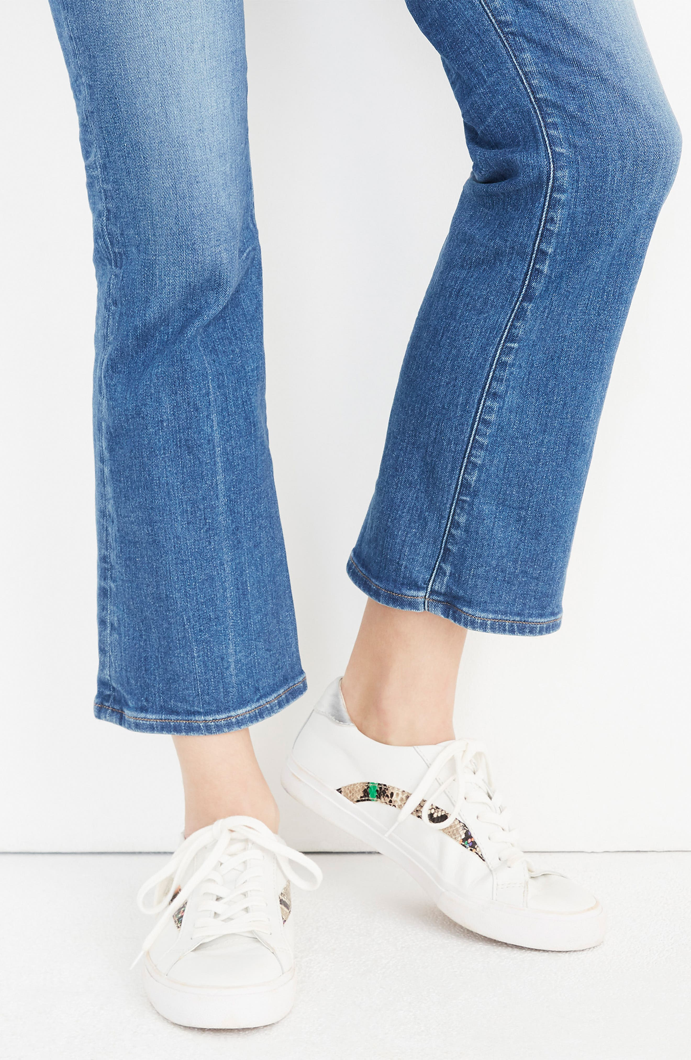 MADEWELL, Delia Sneaker, Alternate thumbnail 2, color, LIGHT UMBER MULTI