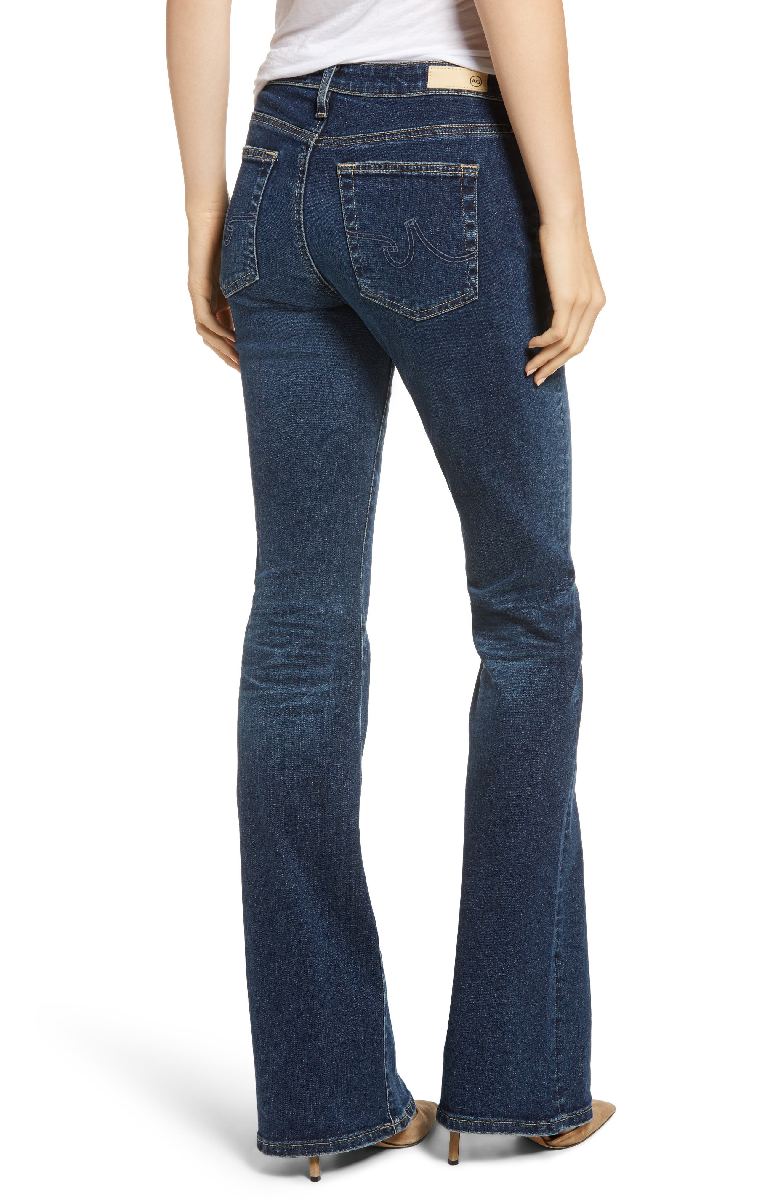 AG, Angel Flare Jeans, Alternate thumbnail 2, color, 10Y TRANSCENDENCE