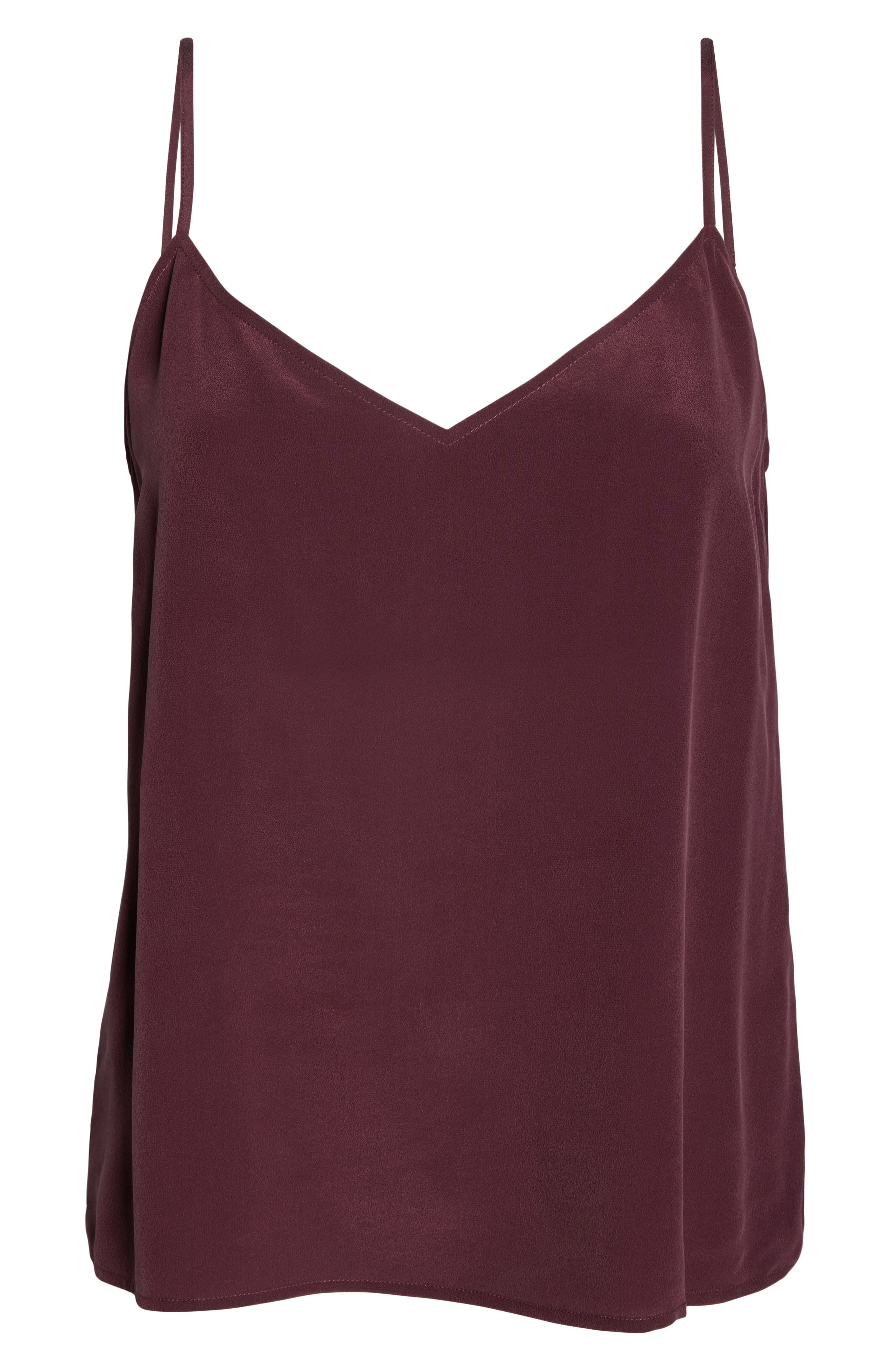 UGG<SUP>®</SUP>, Vita Silk Camisole, Alternate thumbnail 6, color, PORT