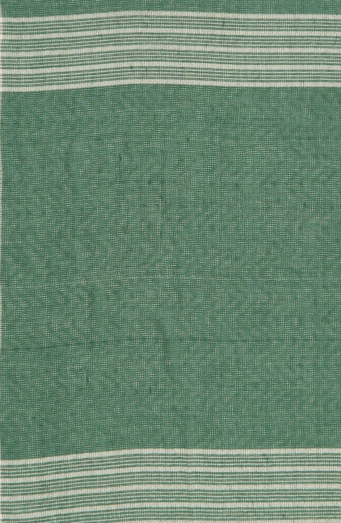 BP., Check Square Scarf, Alternate thumbnail 3, color, 310