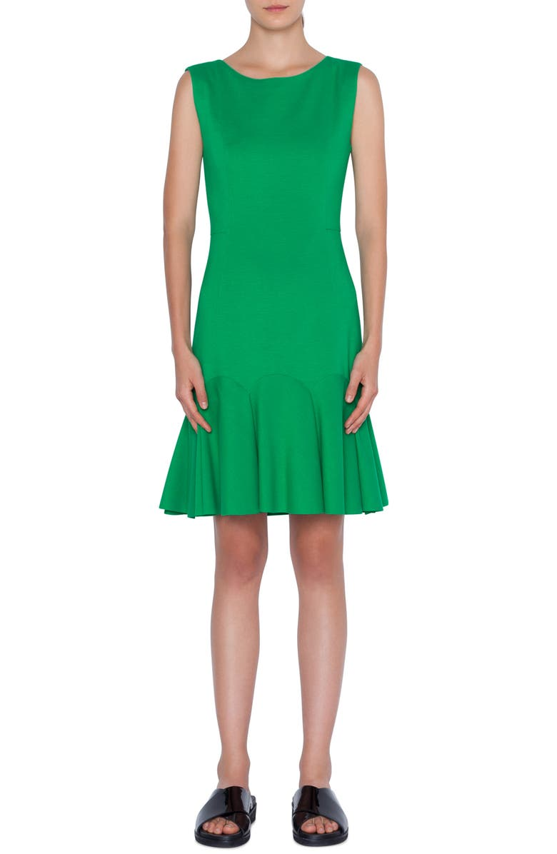 Akris Punto Dresses FLOUNCE HEM DRESS