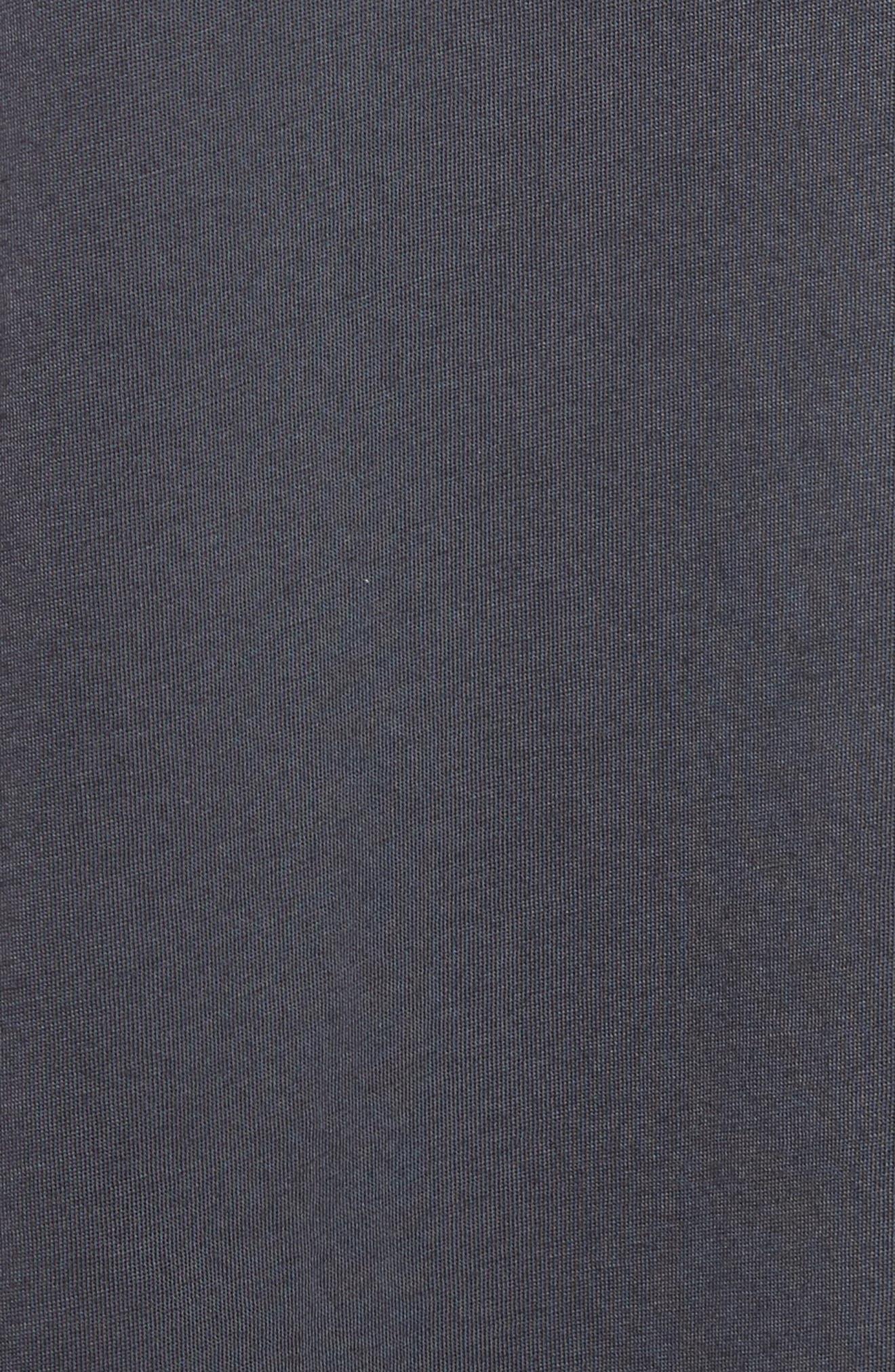 REBECCA TAYLOR, Glitter Jersey Tee, Alternate thumbnail 5, color, 020