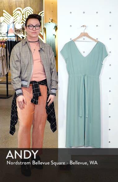 Cap Sleeve Midi Dress, sales video thumbnail