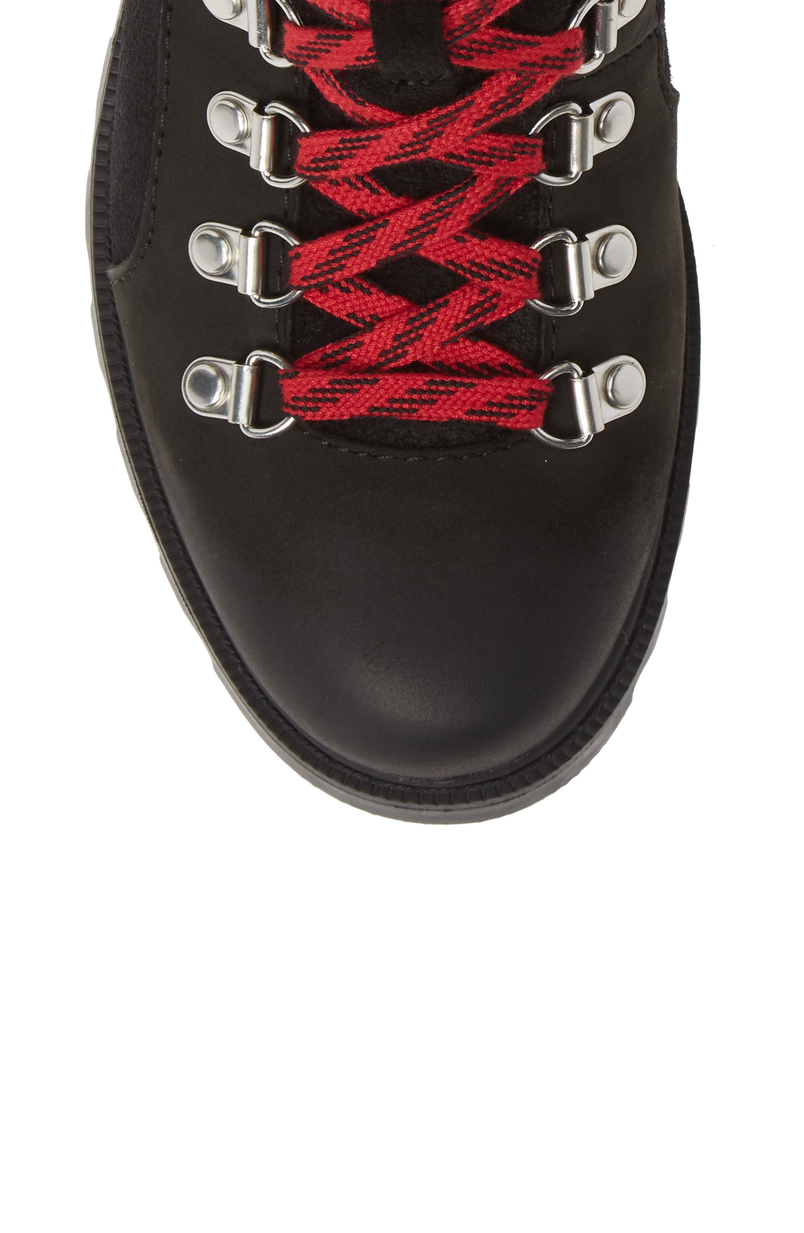 SOREL, Ainsley Conquest Waterproof Boot, Alternate thumbnail 5, color, BLACK/ BLACK