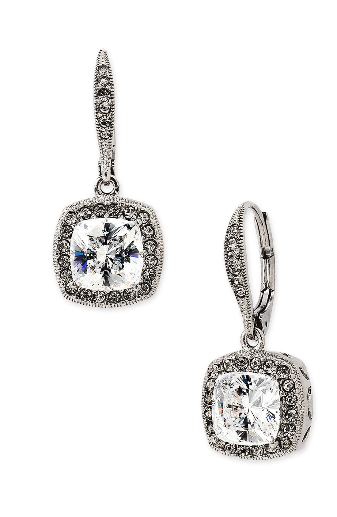 NADRI, Princess Earrings, Main thumbnail 1, color, 001