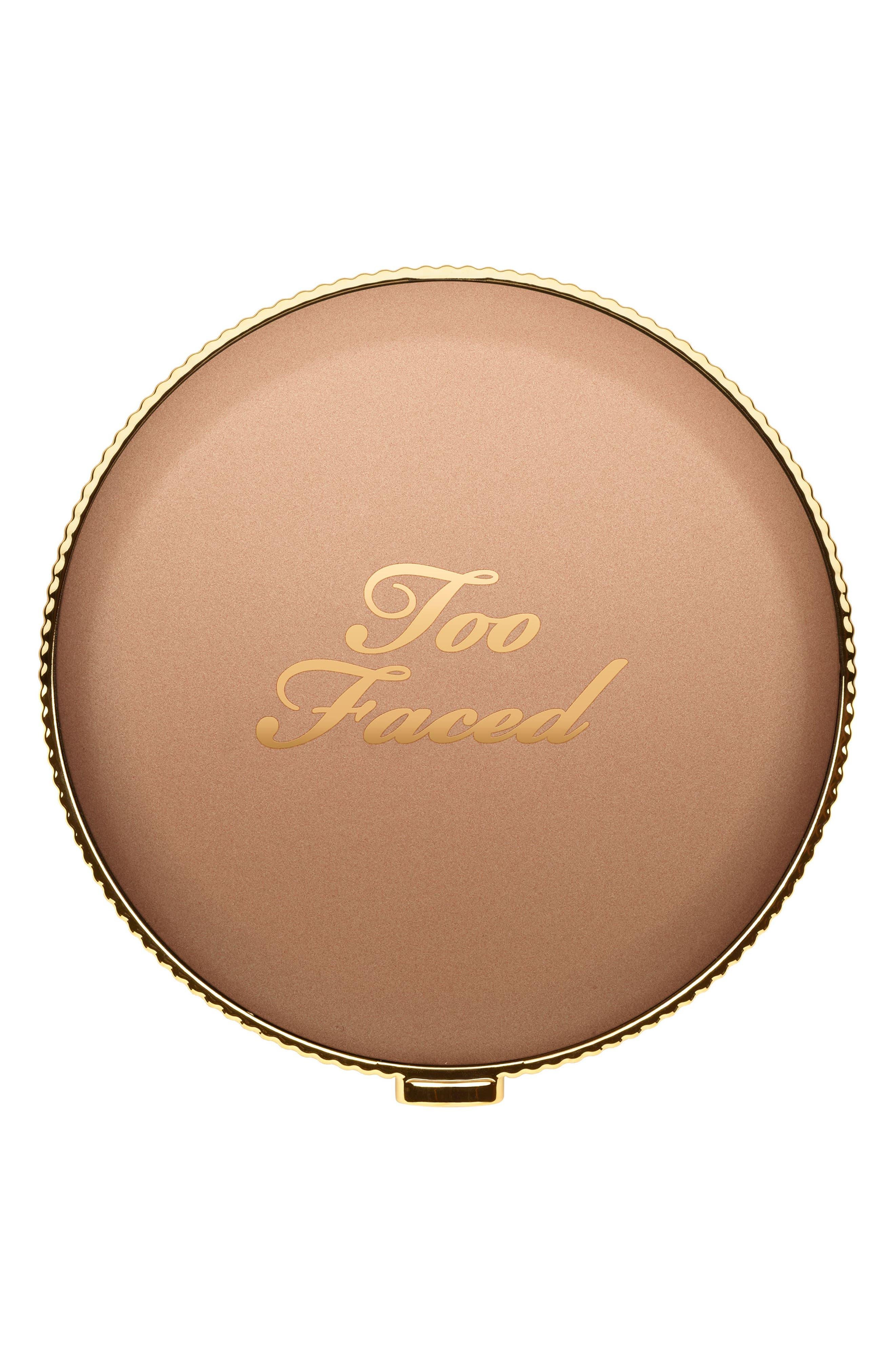 TOO FACED, Chocolate Soleil Bronzer, Alternate thumbnail 5, color, MILK CHOCOLATE SOLEIL