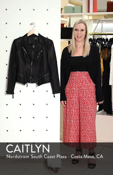 Faux Leather Jacket, sales video thumbnail