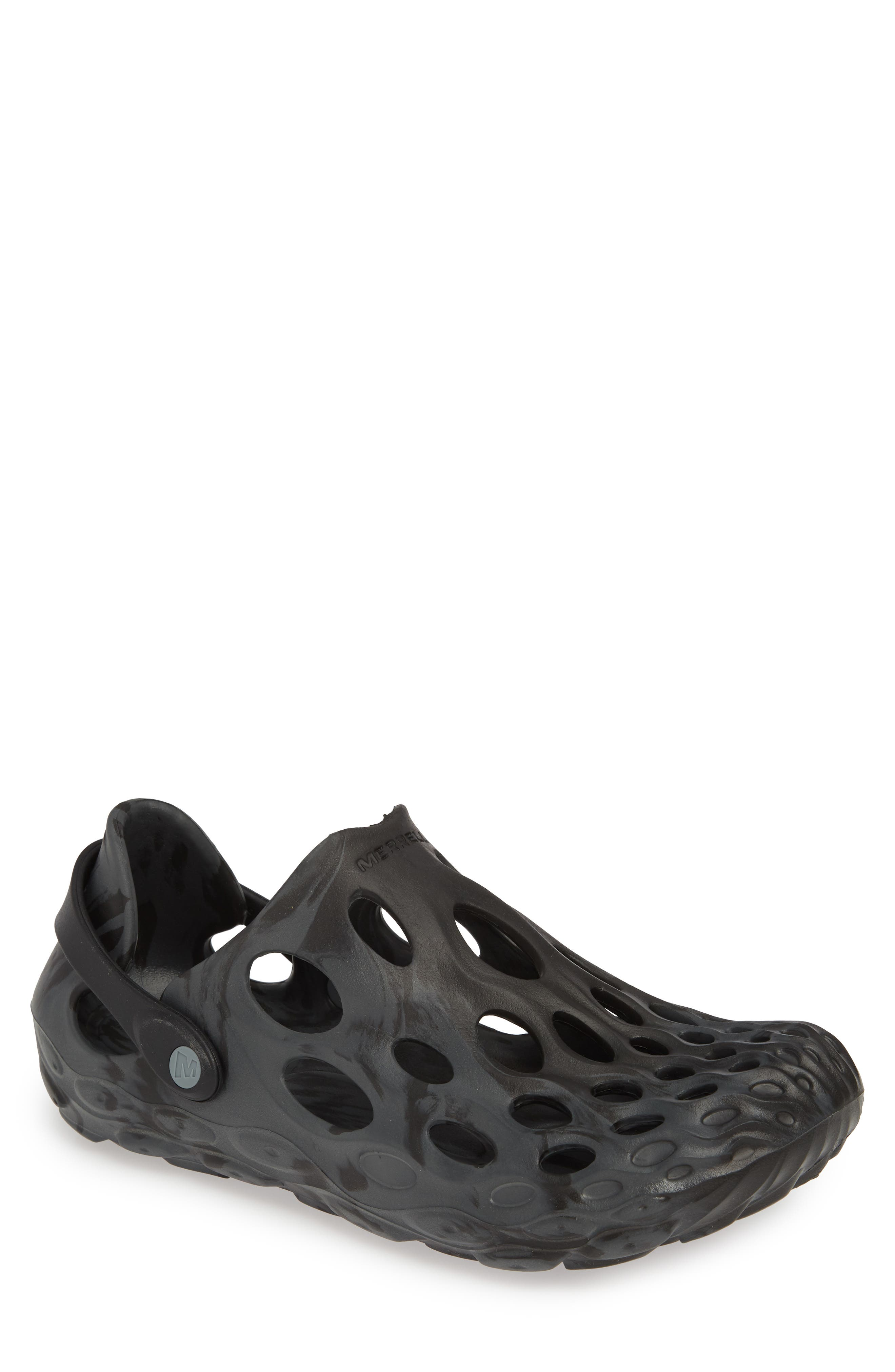MERRELL Hydro Moc Water Friendly Clog, Main, color, BLACK