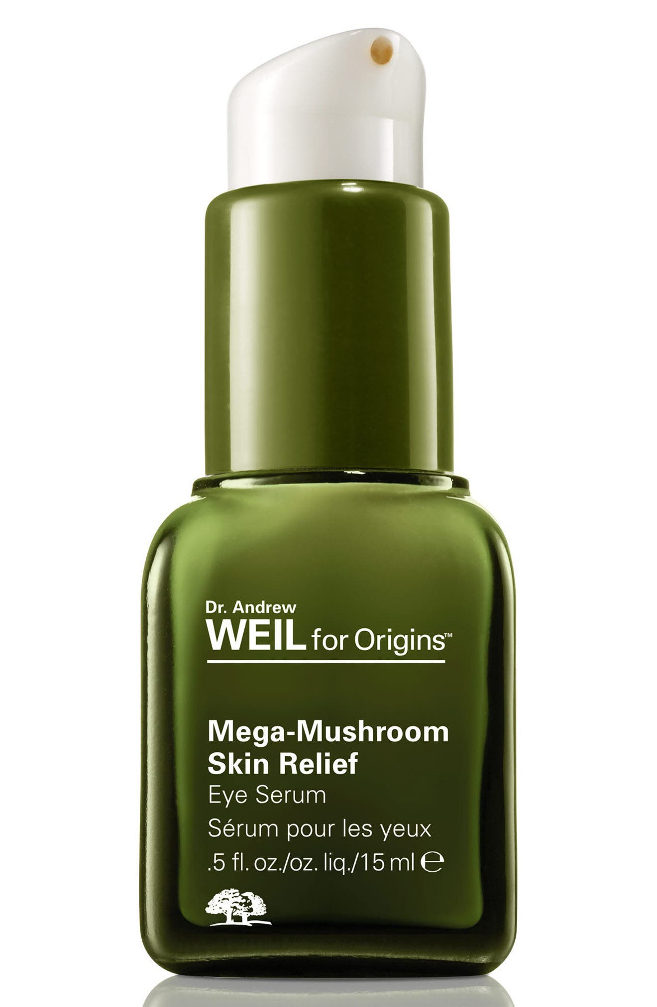 ORIGINS, Dr. Andrew Weil for Origins<sup>™</sup> Mega-Mushroom Skin Relief Eye Serum, Main thumbnail 1, color, NO COLOR