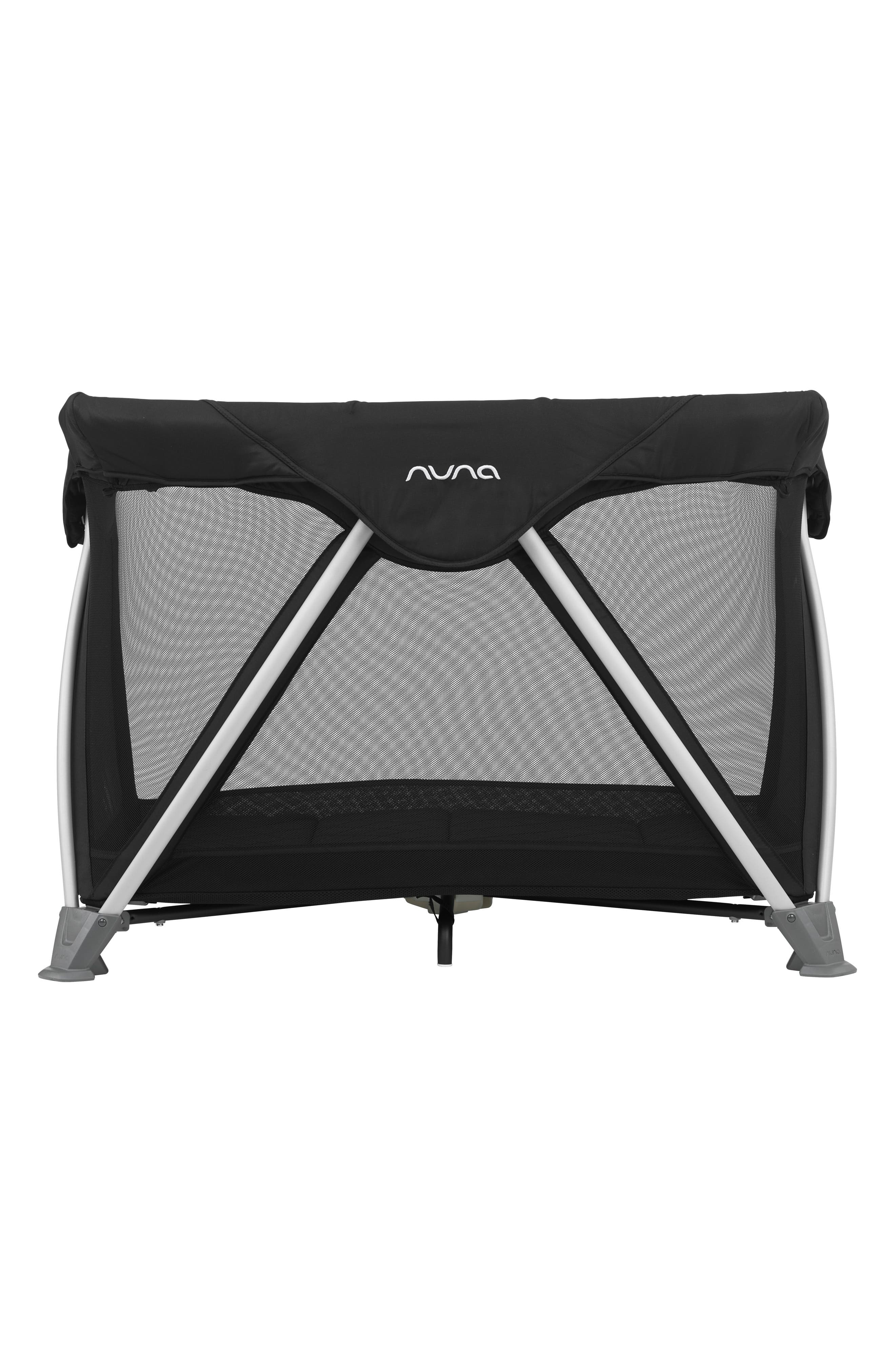 NUNA, SENA<sup>®</sup> Aire Travel Crib, Alternate thumbnail 4, color, CAVIAR
