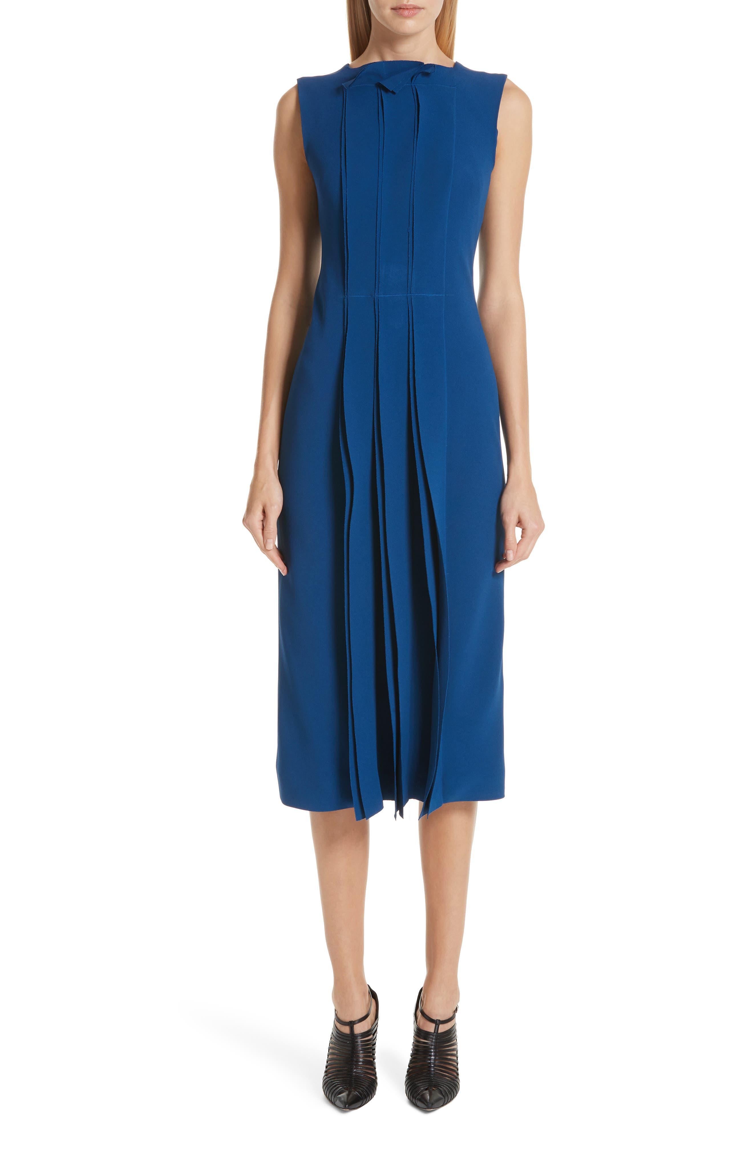 Jason Wu Collection Stretch Cady Dress, Blue
