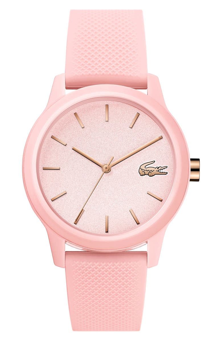 Lacoste 12.12 SILICONE STRAP WATCH, 36MM