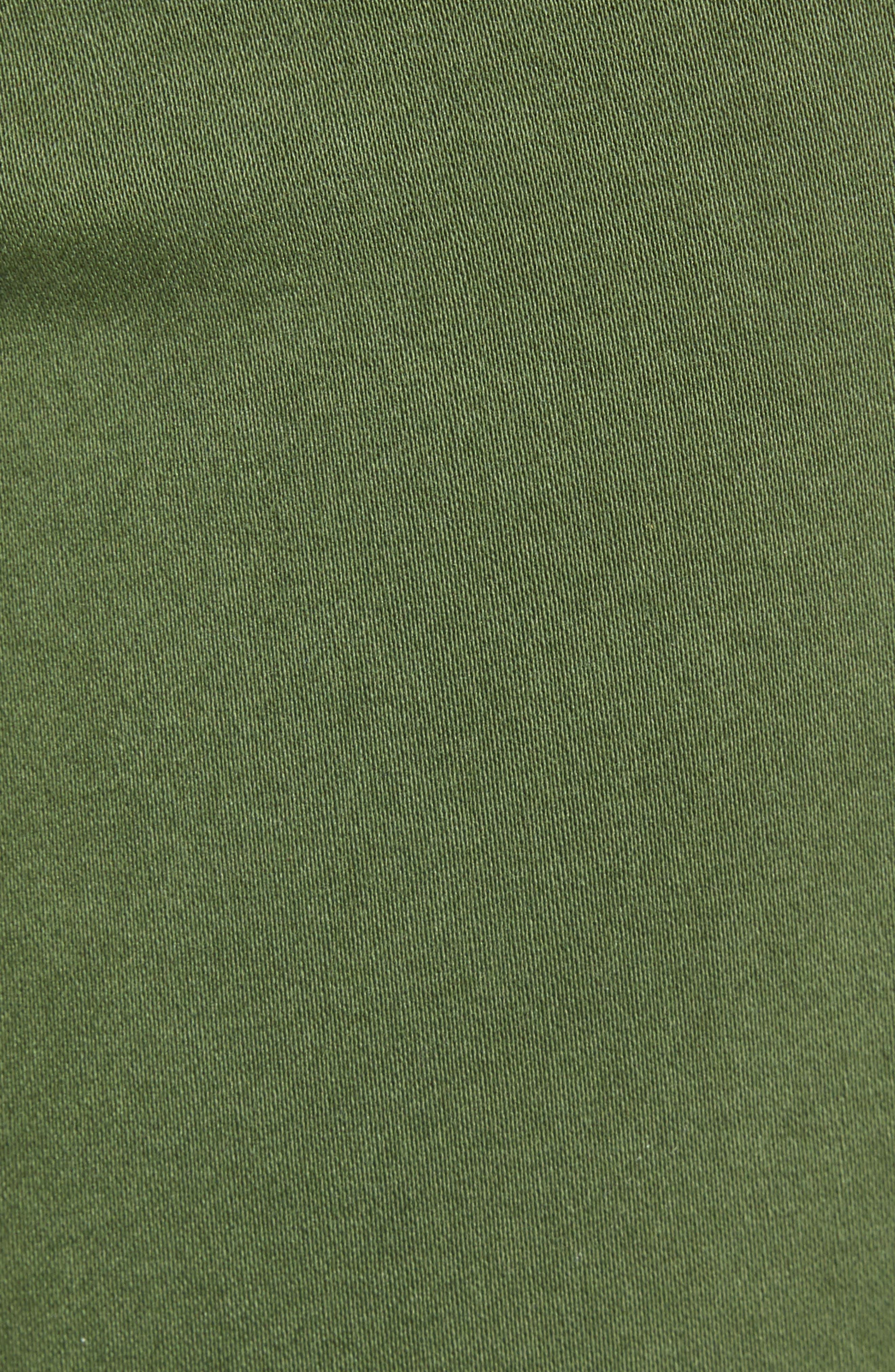 AG, 'The Prima' Cigarette Leg Skinny Jeans, Alternate thumbnail 6, color, SULFUR NEW SPRUCE