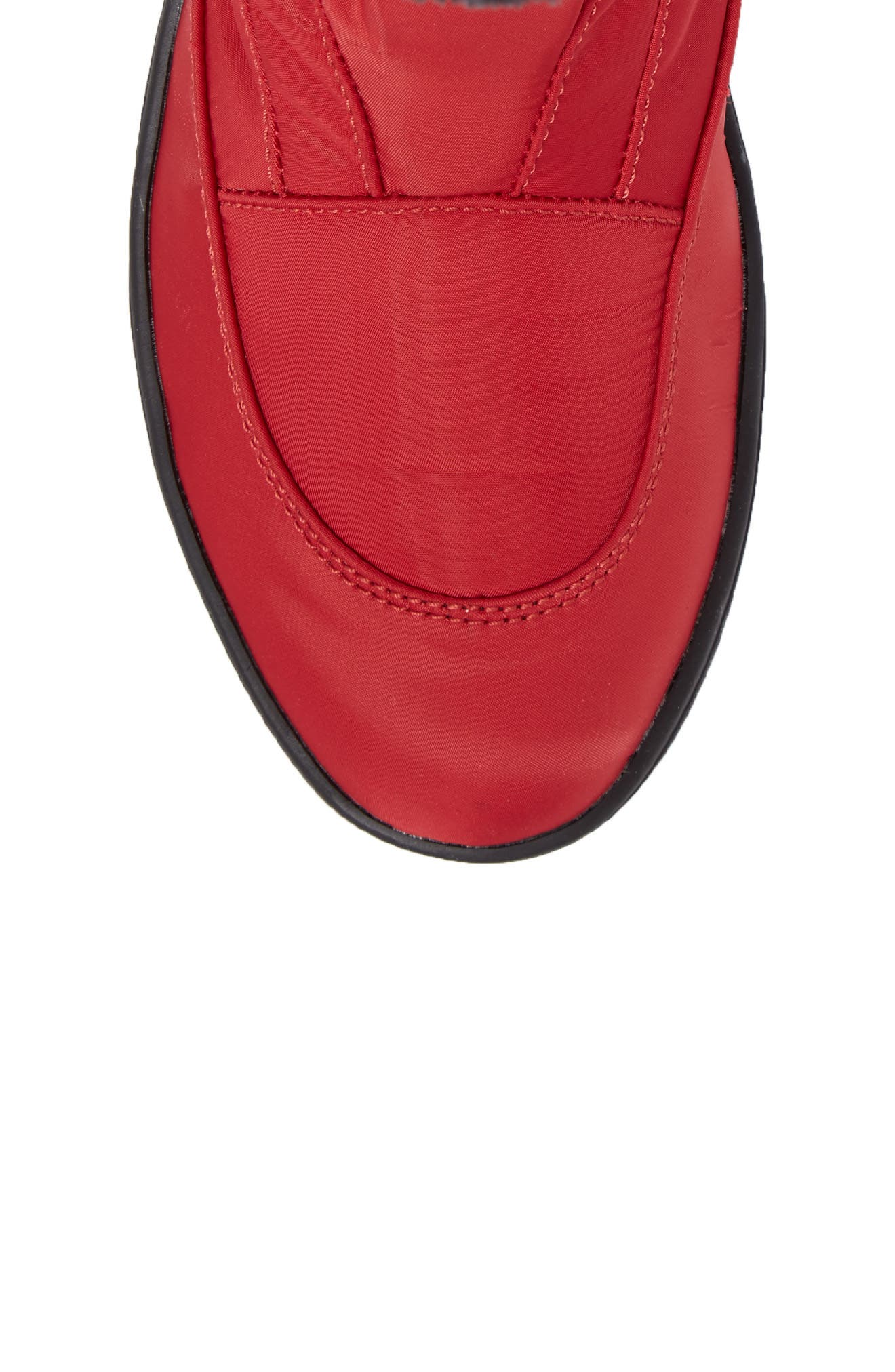PAJAR, Shoes Moscou Snow Boot, Alternate thumbnail 5, color, RED FABRIC