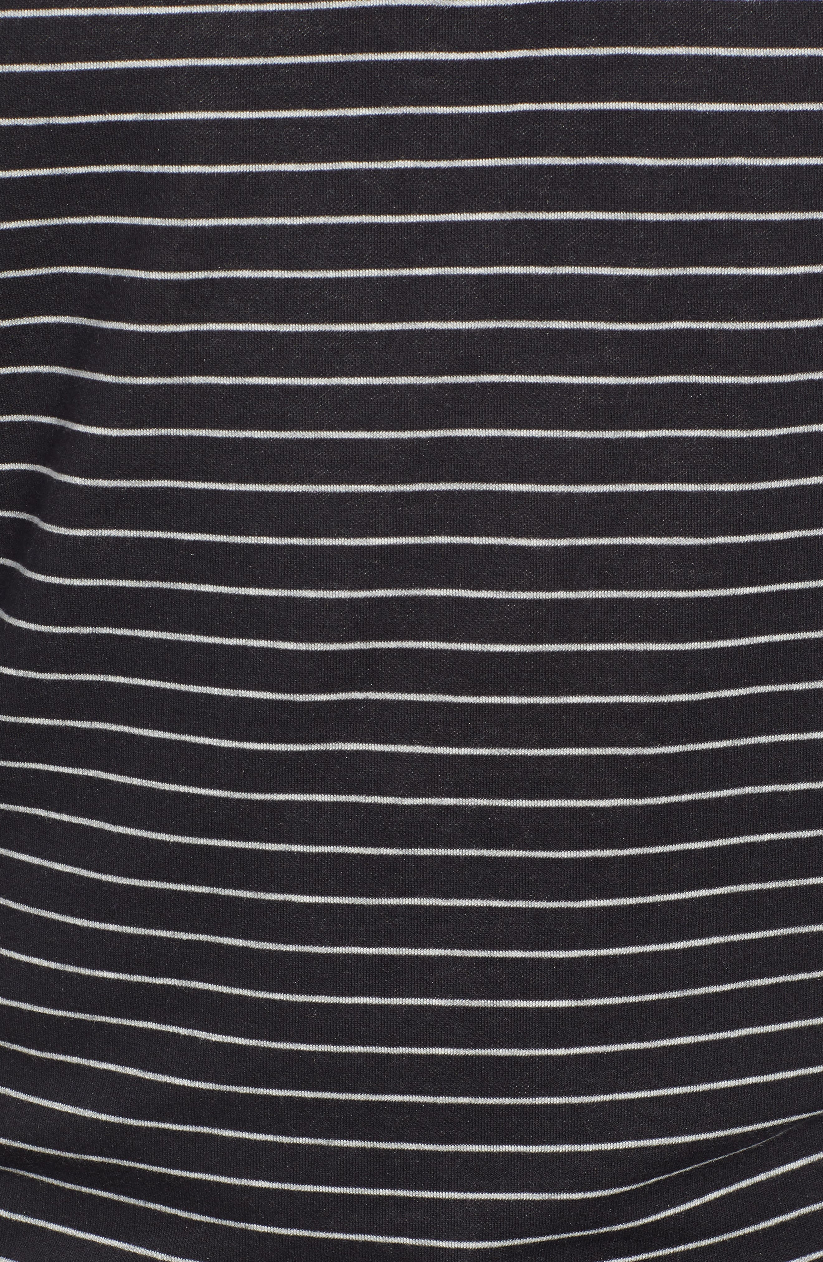 PETER MILLAR, Classic Fit Pullover, Alternate thumbnail 5, color, BLACK