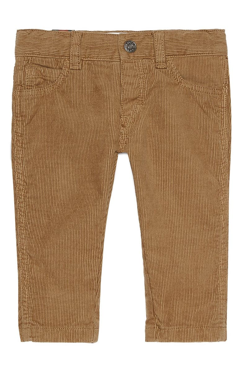 bef9c4841 Gucci Bee Detailed Corduroy Pants (Baby Boys & Toddler Boys) | Nordstrom