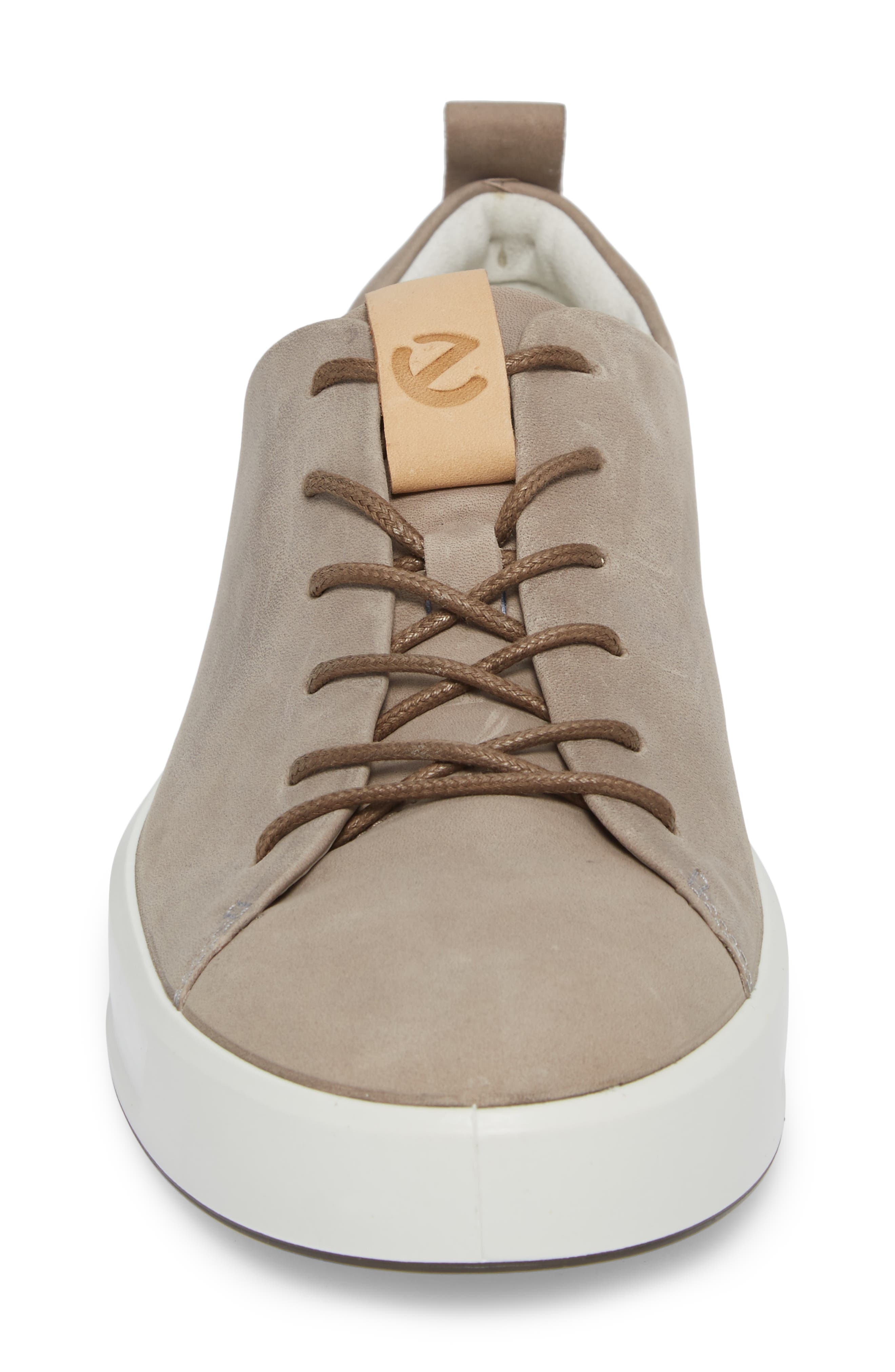 ECCO, Soft 8 Sneaker, Alternate thumbnail 4, color, MOONROCK