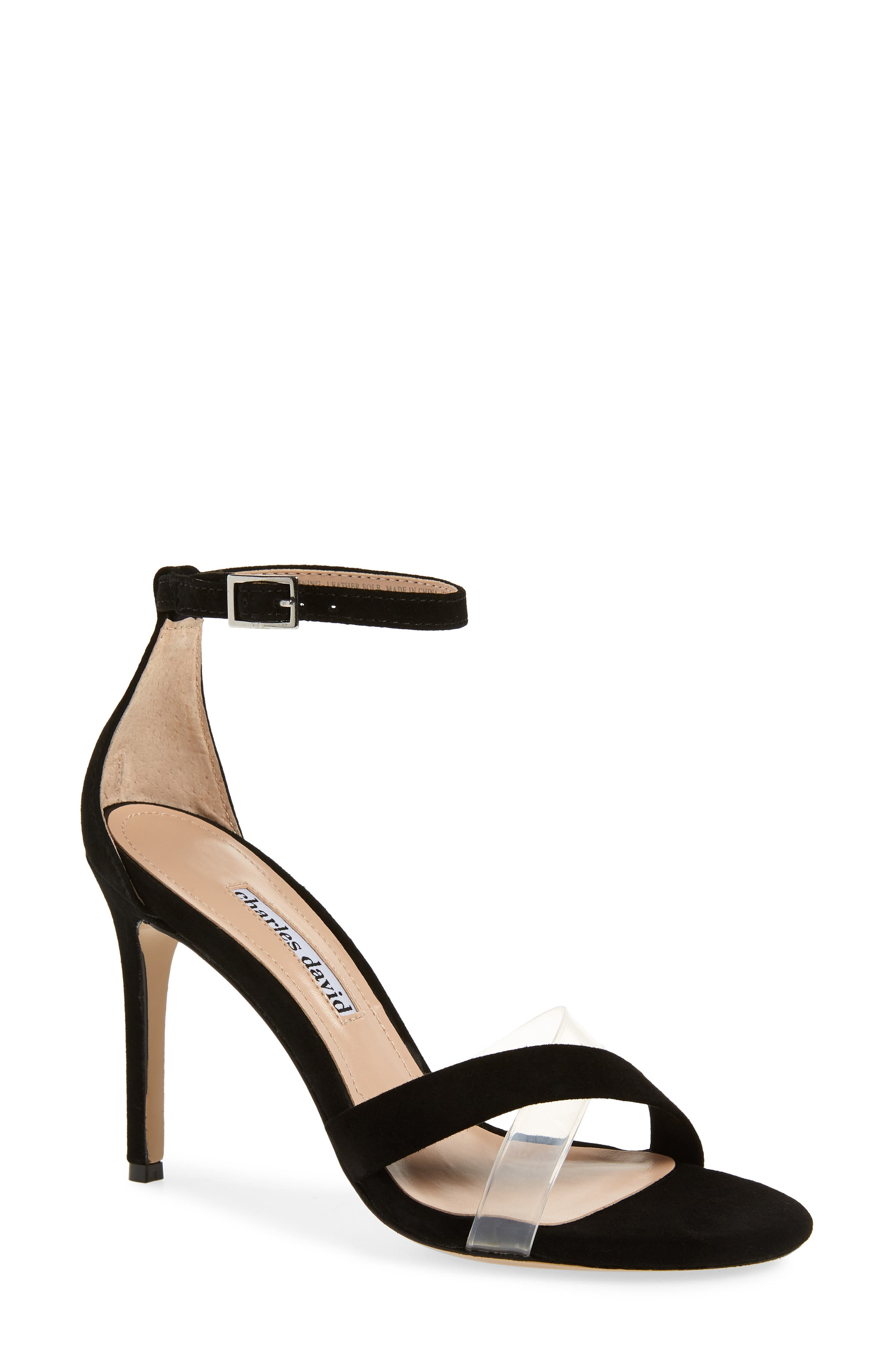 Charles David Courtney Sandal, Black
