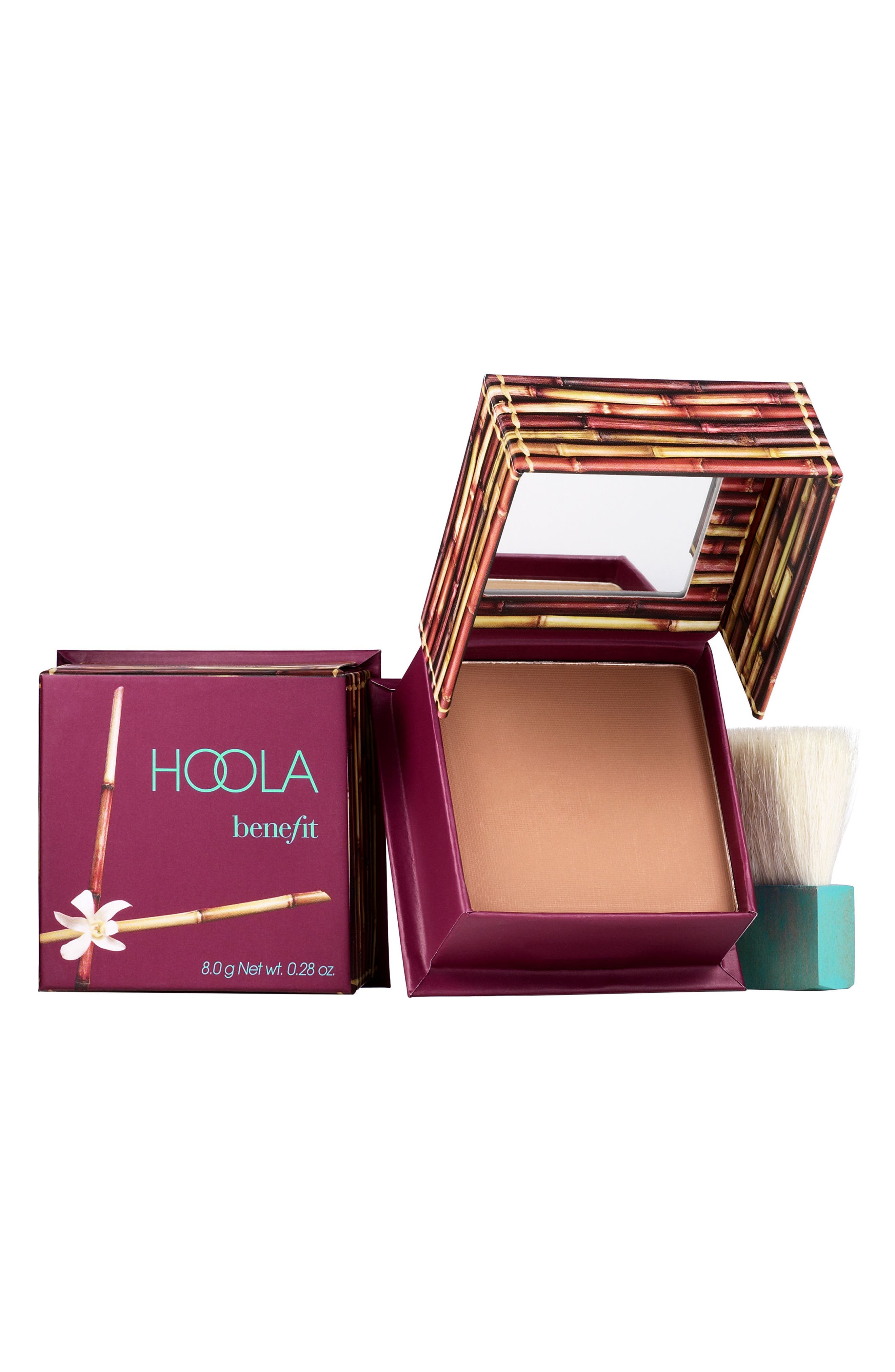 BENEFIT COSMETICS, Benefit Hoola Matte Bronzing Powder, Main thumbnail 1, color, HOOLA - MEDIUM