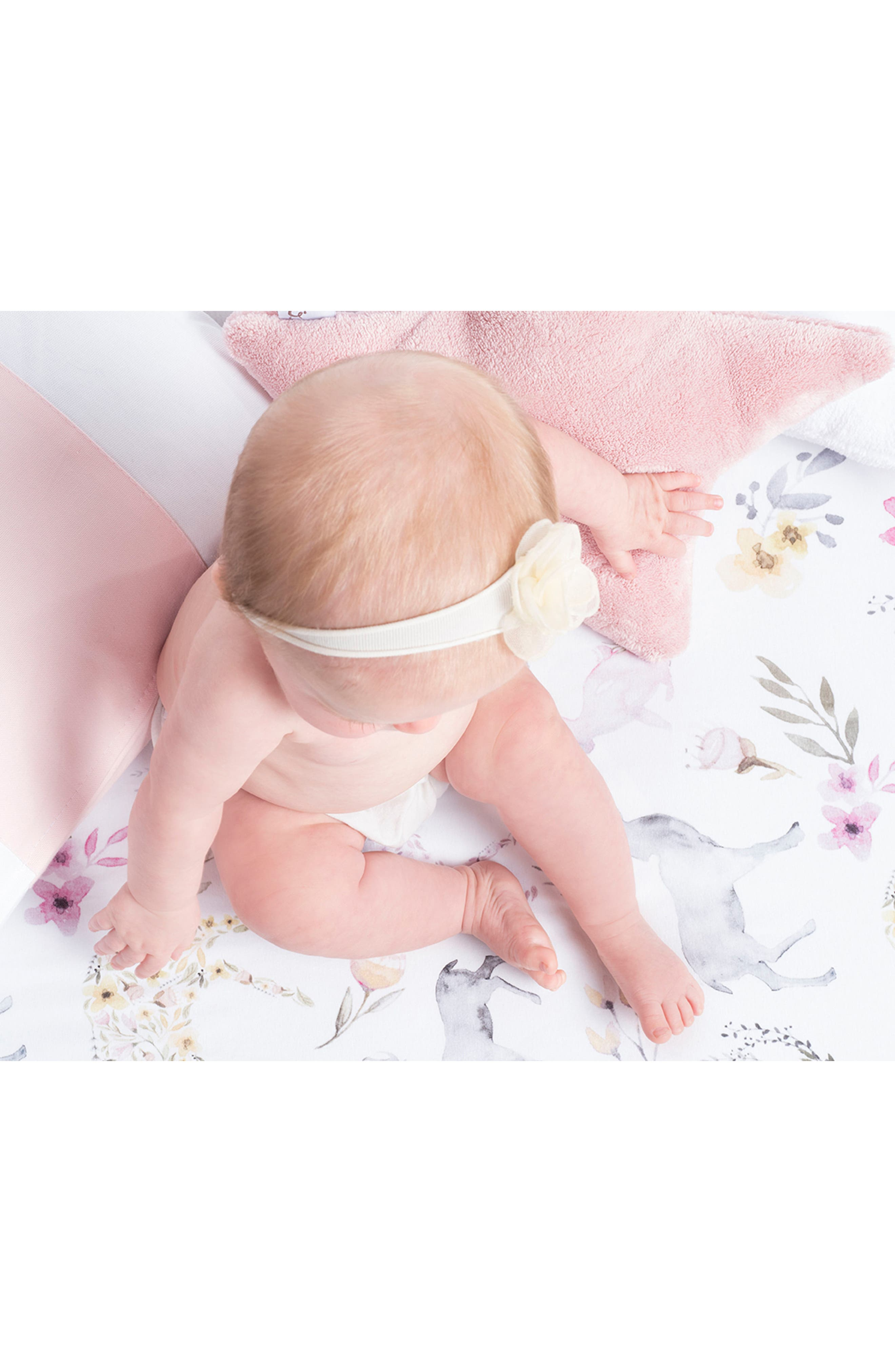 OILO, 2-Pack Fitted Crib Sheets, Alternate thumbnail 3, color, STONE FAWN