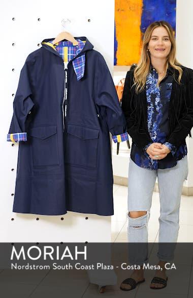 Reversible Coated Canvas Rain Coat, sales video thumbnail