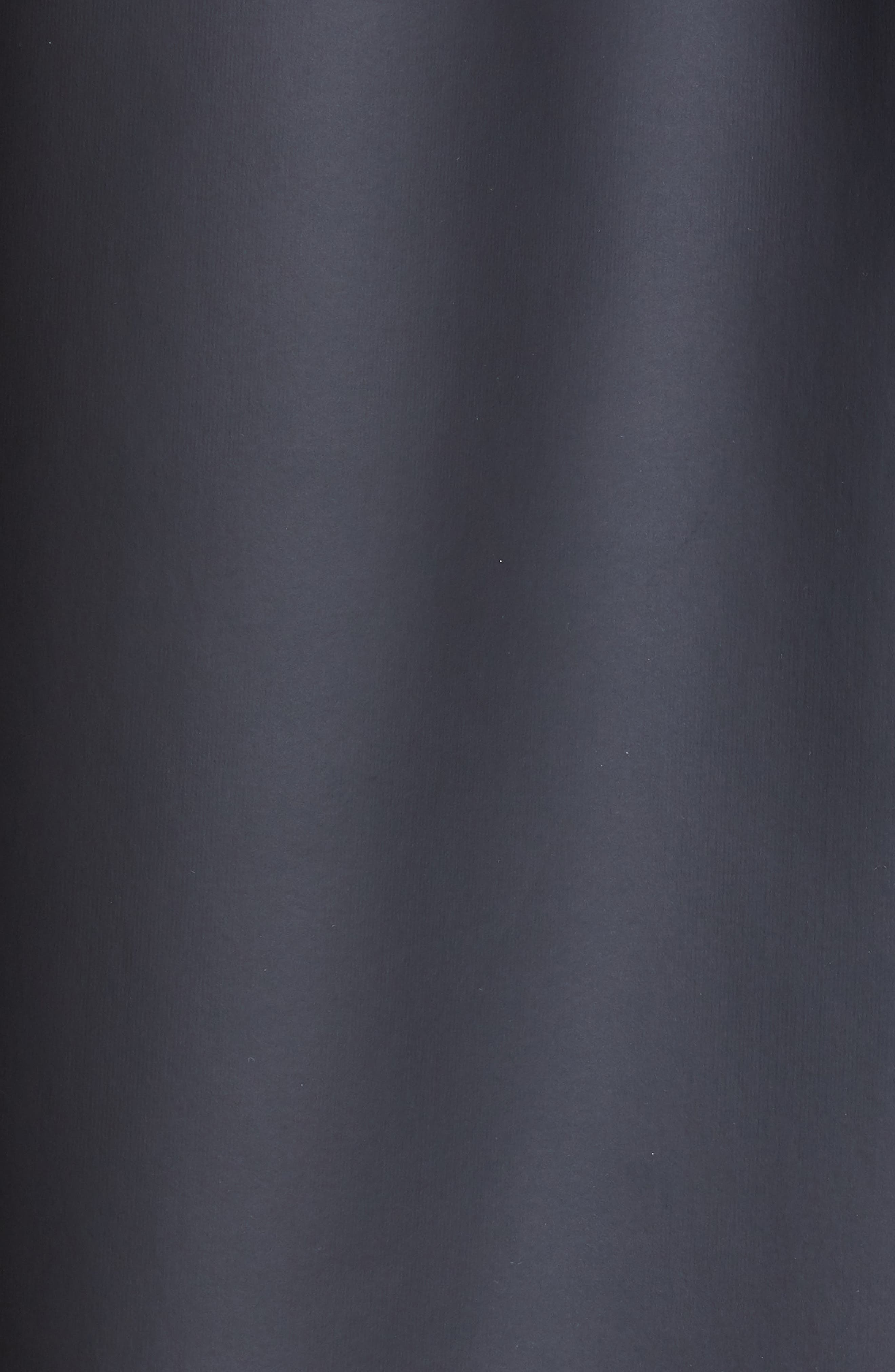 BURBERRY, Hartlebury Coated Rain Coat, Alternate thumbnail 6, color, BLACK / WHITE