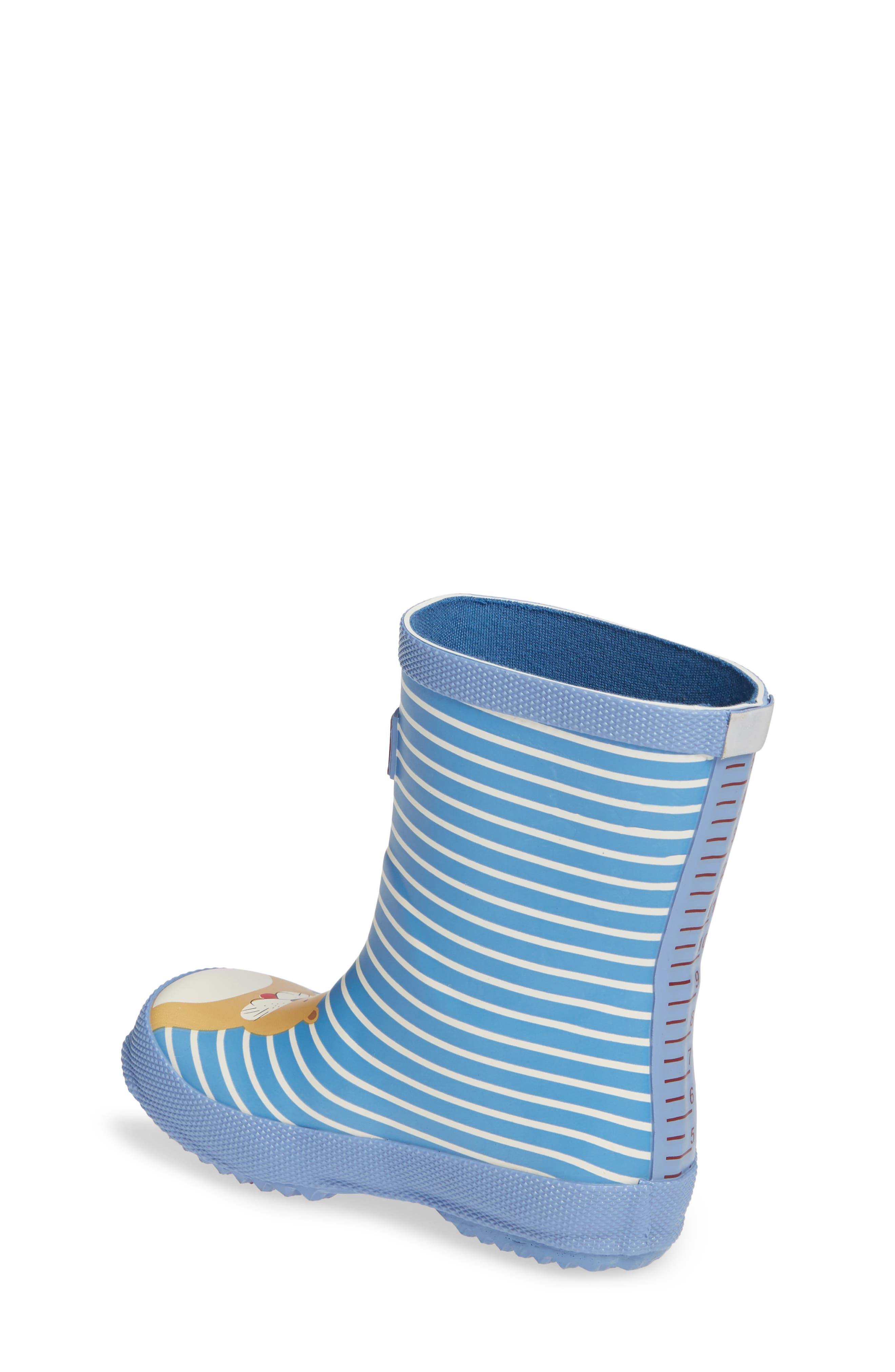 JOULES, Print Welly Rain Boot, Alternate thumbnail 2, color, 430