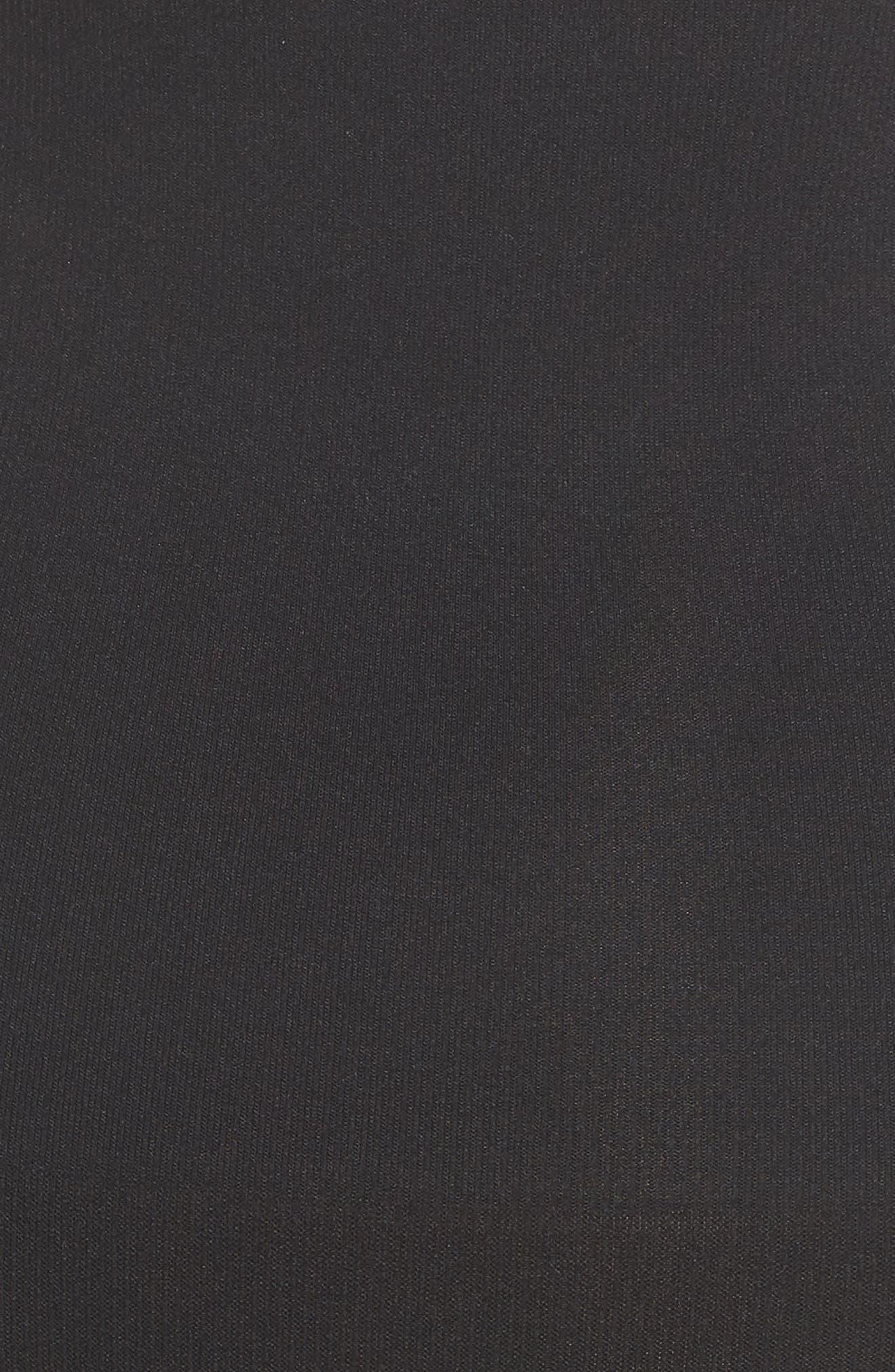 YUMMIE, Cooling FX High Waist Briefs, Alternate thumbnail 5, color, BLACK