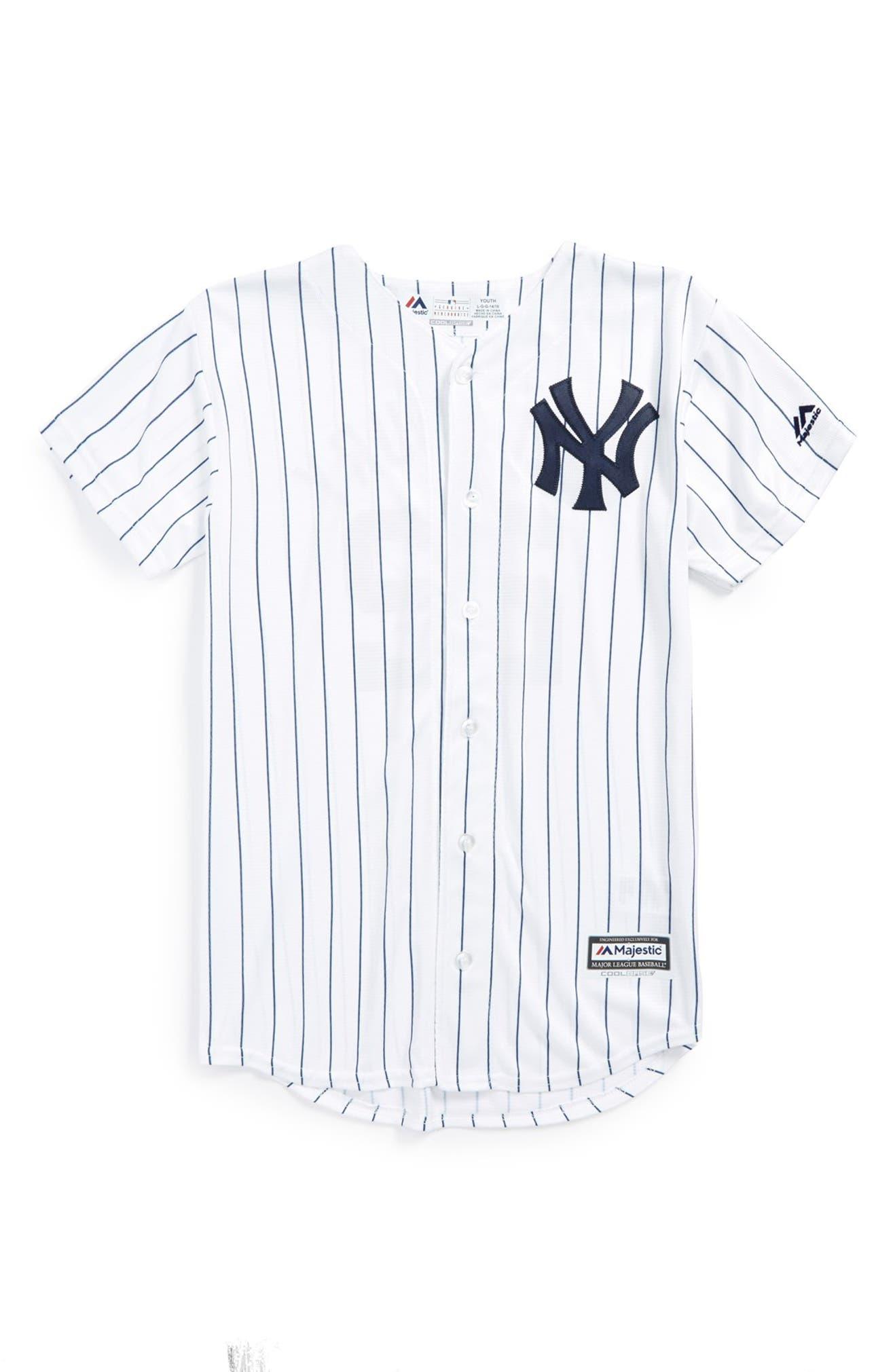 8db29a2d Majestic MLB 'New York Yankees - Jacoby Ellsbury' Cool Base® Replica ...