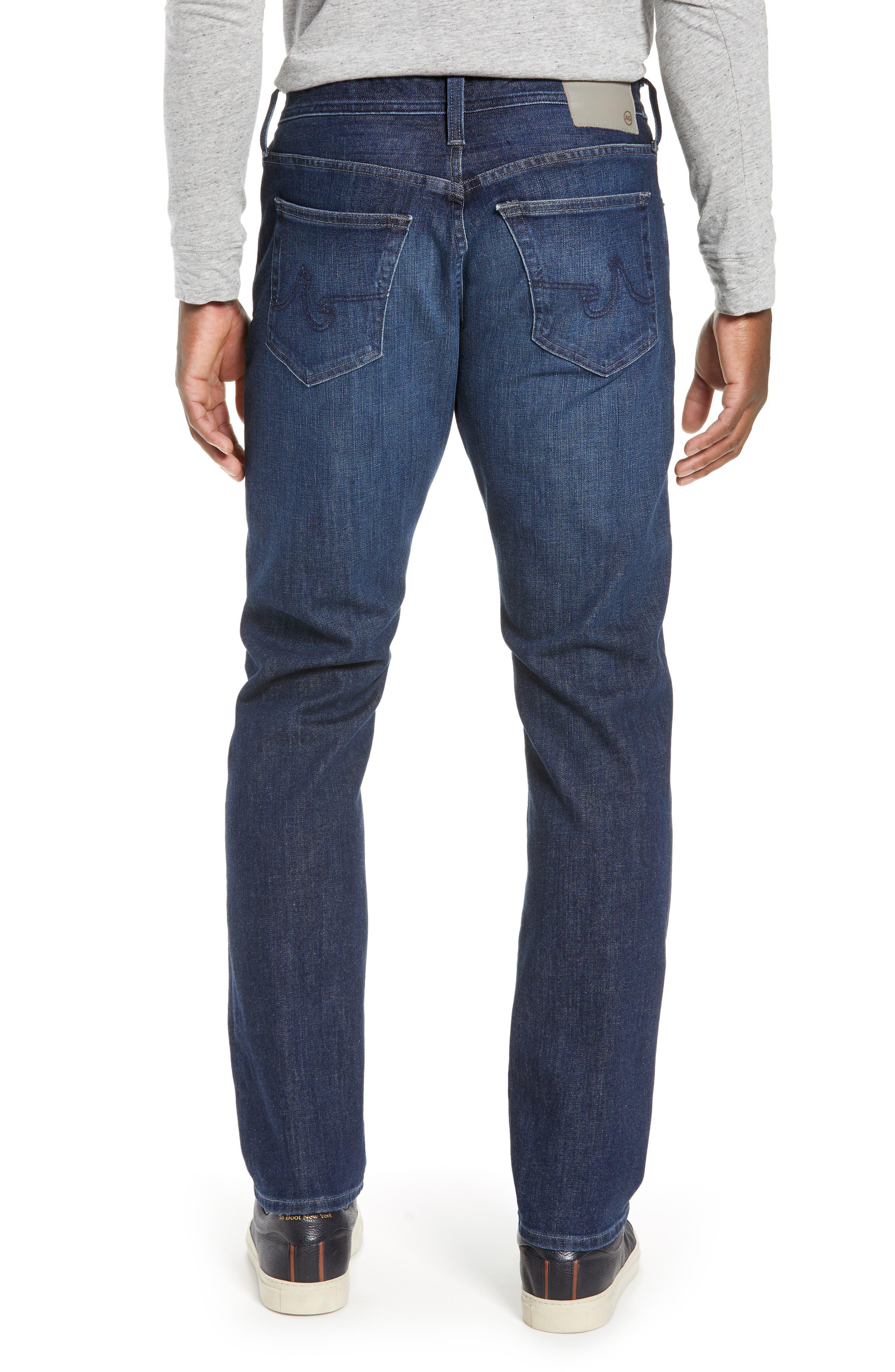 AG, Everett Slim Straight Leg Jeans, Alternate thumbnail 2, color, GAMMA