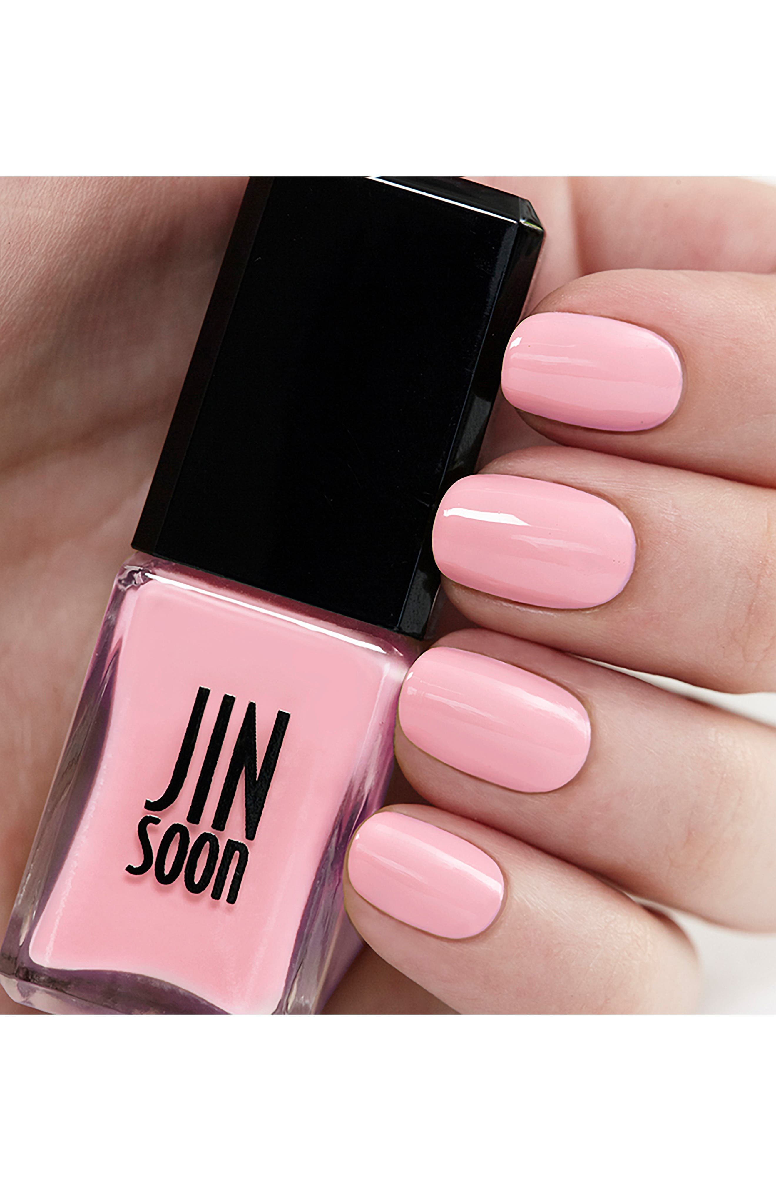 JINSOON, 'Dolly Pink' Nail Lacquer, Alternate thumbnail 2, color, 650