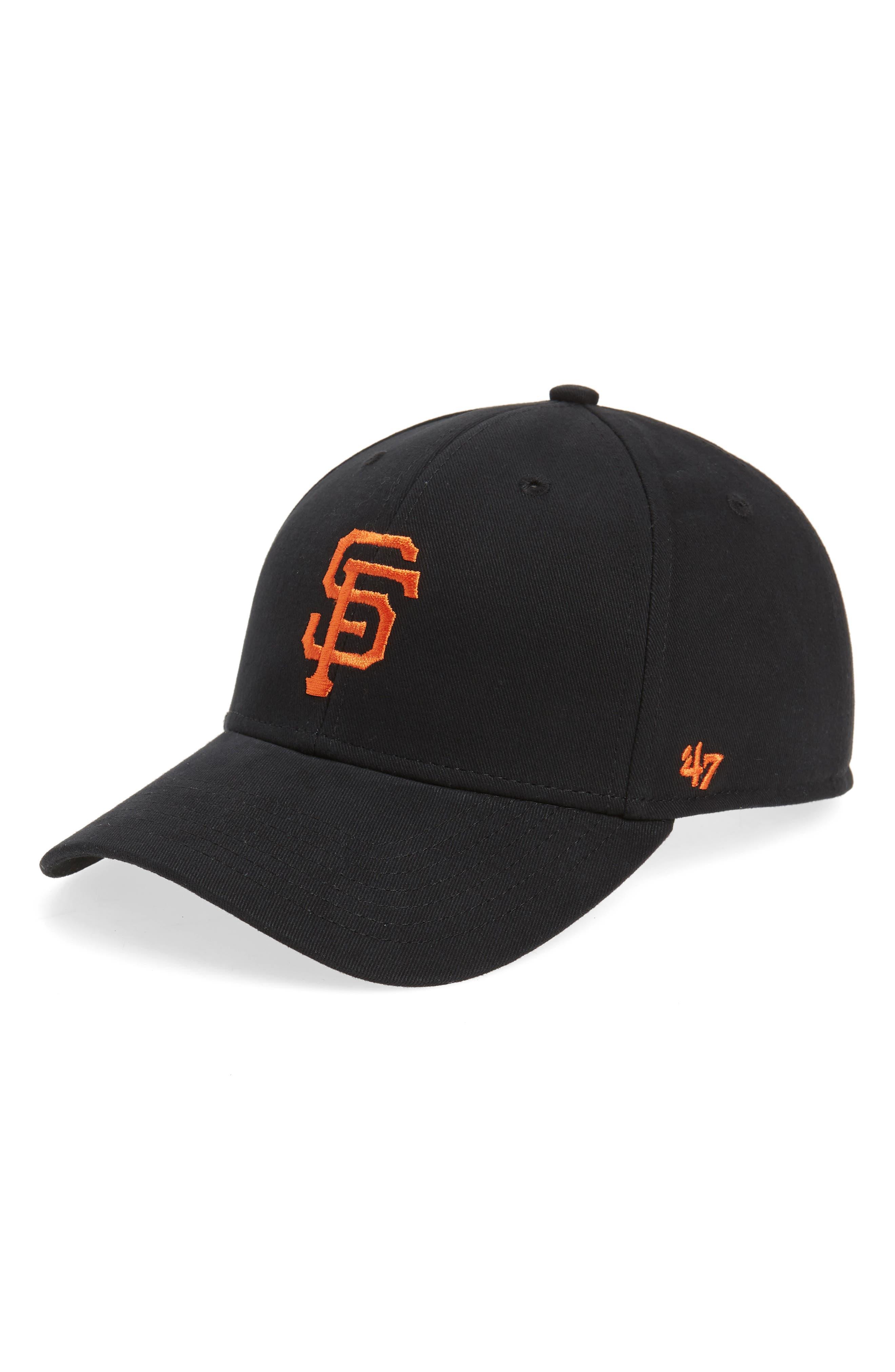 '47, San Francisco Giants Baseball Cap, Main thumbnail 1, color, BLACK