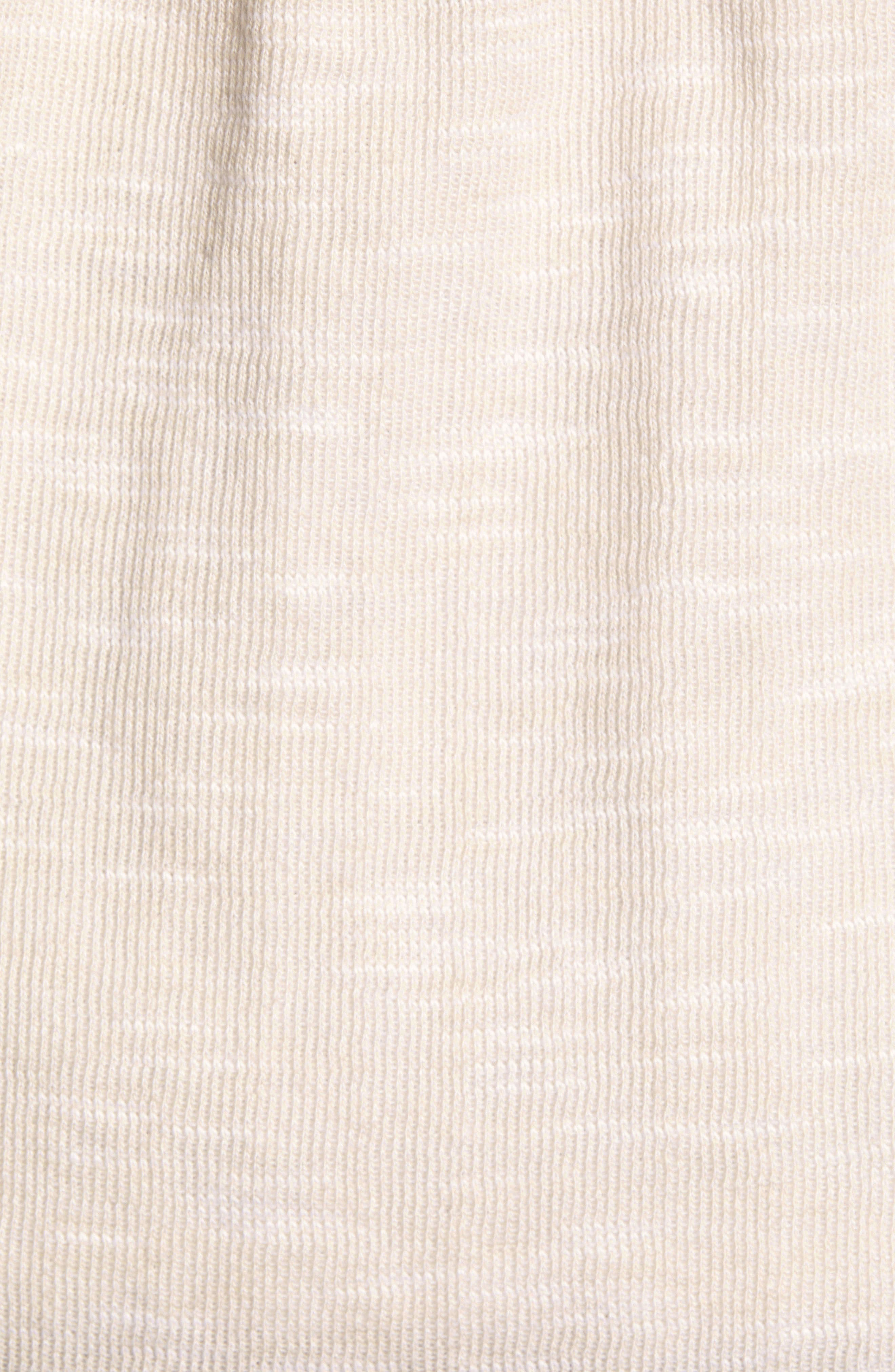 CASLON<SUP>®</SUP>, Open Front Hooded Cardigan, Alternate thumbnail 7, color, BEIGE- WHITE SPACEDYE