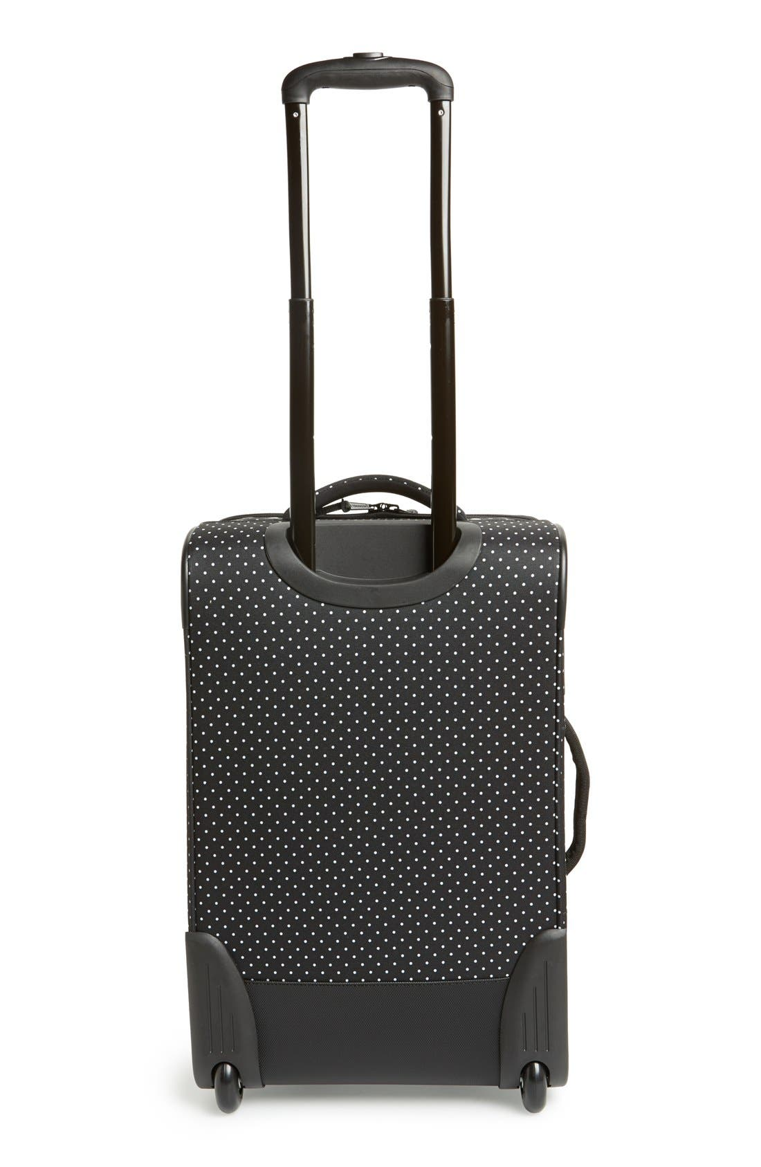 HERSCHEL SUPPLY CO., Herschel Supply Co 'Campaign' Wheeled Carry-On, Alternate thumbnail 4, color, 005