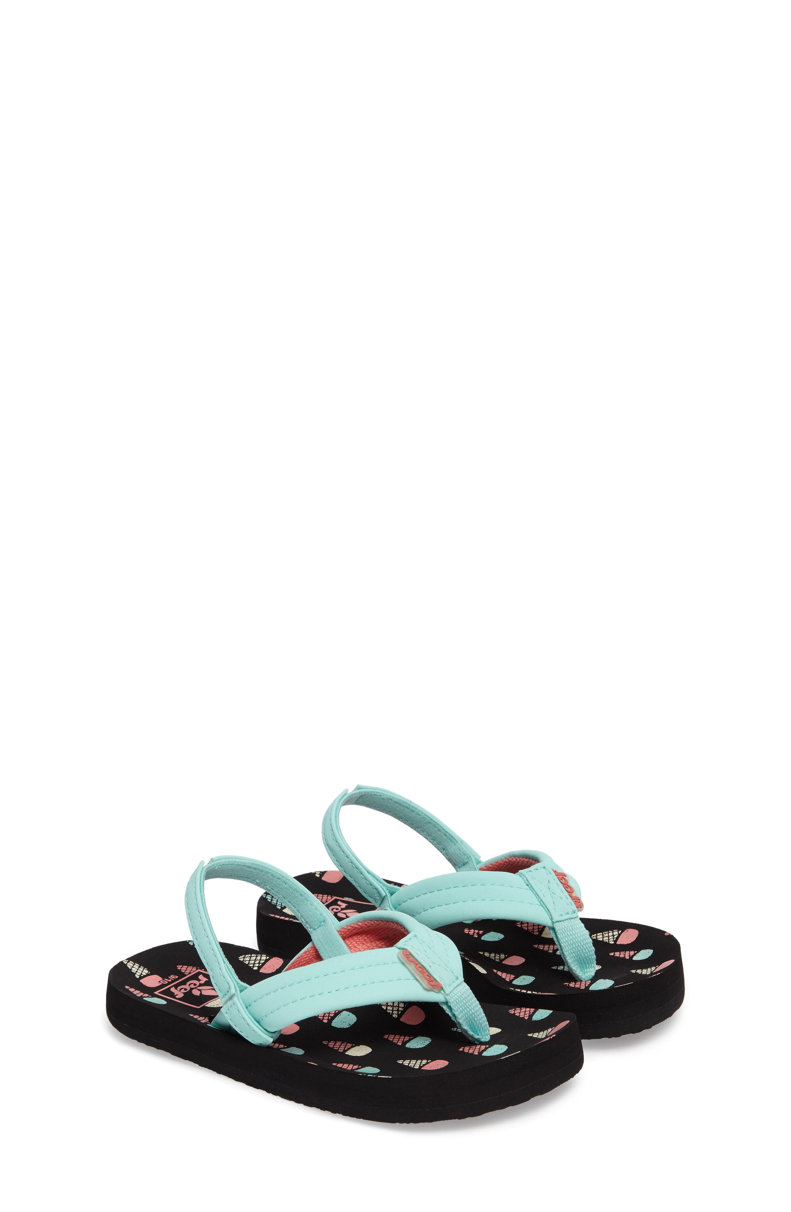REEF, 'Little Ahi' Thong Sandal, Alternate thumbnail 2, color, ICE CREAM