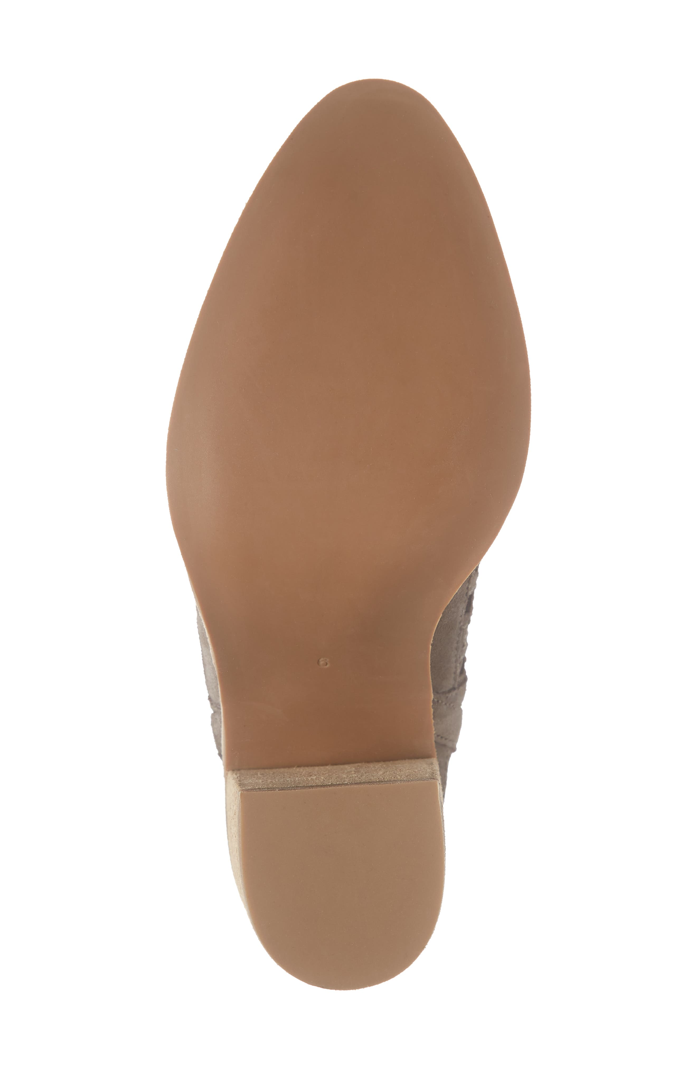 JEFFREY CAMPBELL, Kamet Bootie, Alternate thumbnail 6, color, TAUPE SUEDE