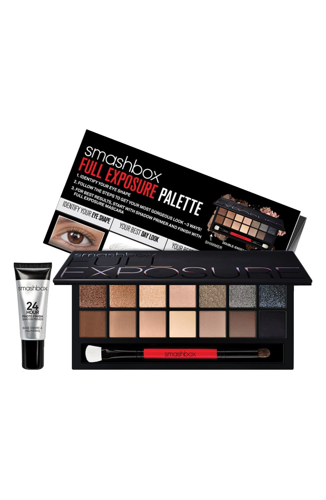 SMASHBOX Full Exposure Eye Palette with Primer, Main, color, NO COLOR