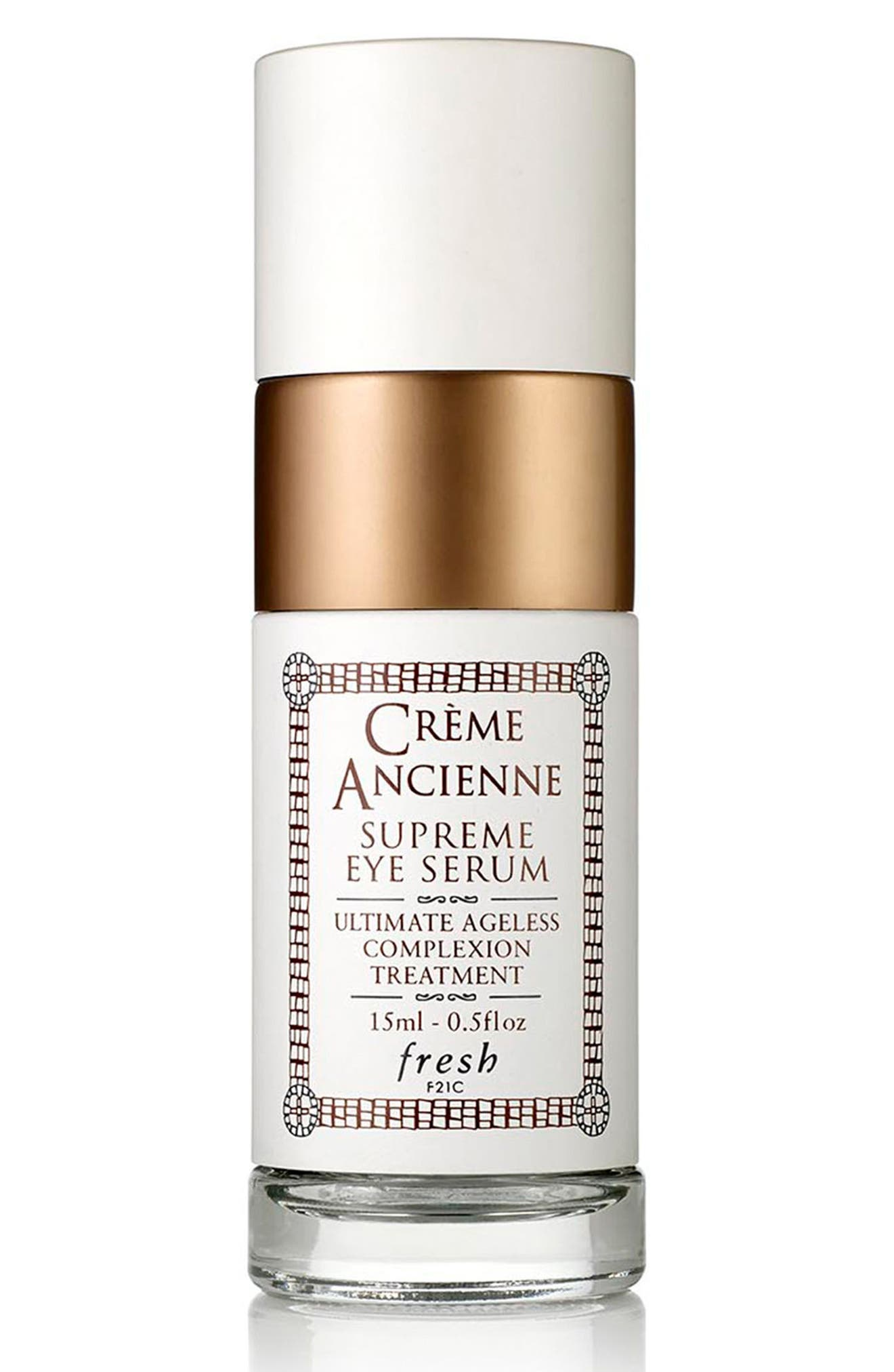FRESH<SUP>®</SUP>, Crème Ancienne Supreme Eye Serum, Main thumbnail 1, color, NO COLOR