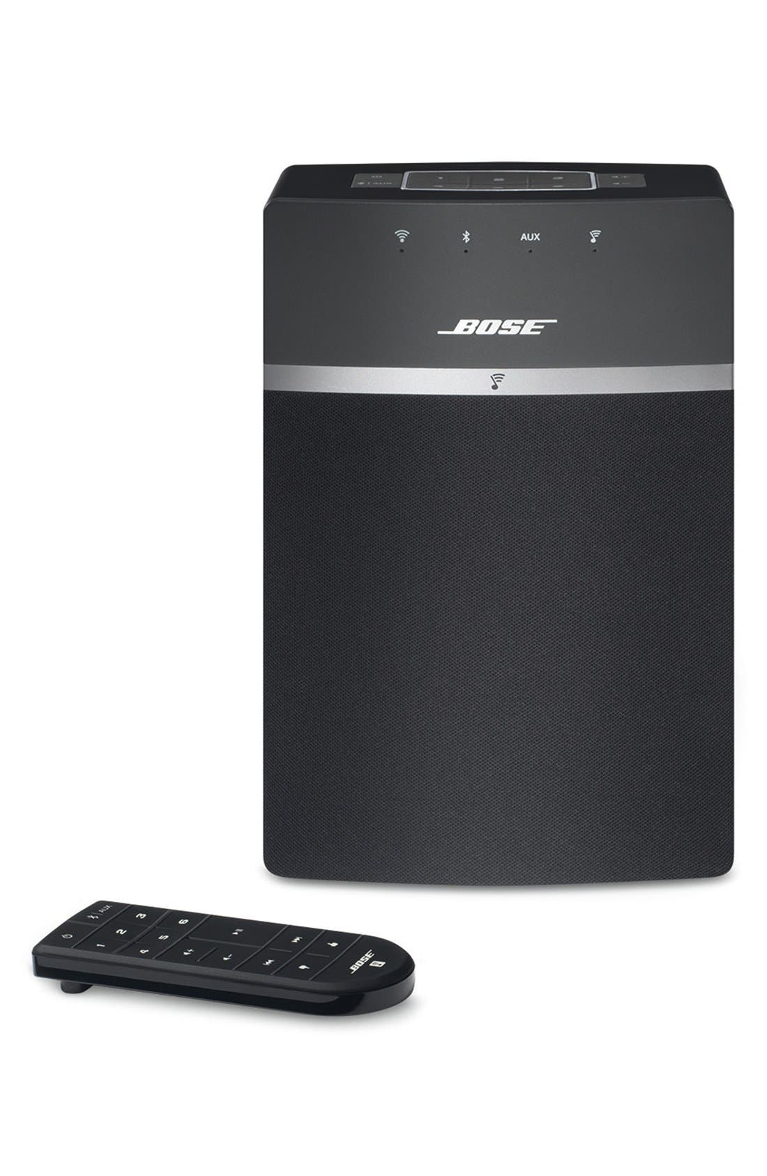 BOSE<SUP>®</SUP>, SoundTouch<sup>®</sup> 10 Wireless Music System, Alternate thumbnail 3, color, BLACK